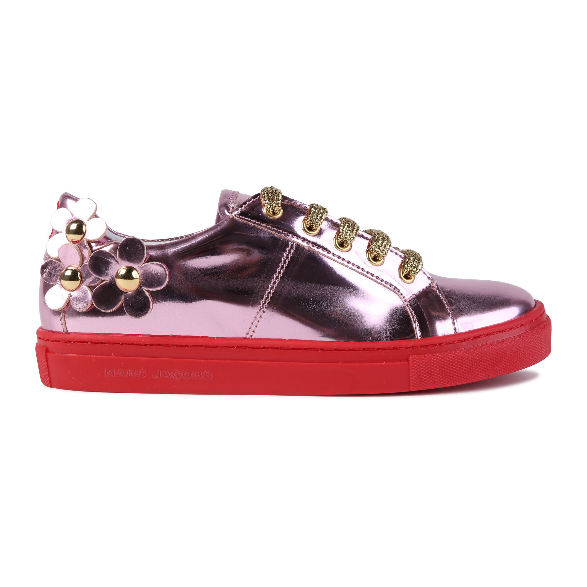 Sneakers in pelle sintetica THE MARC JACOBS Per BAMBINA