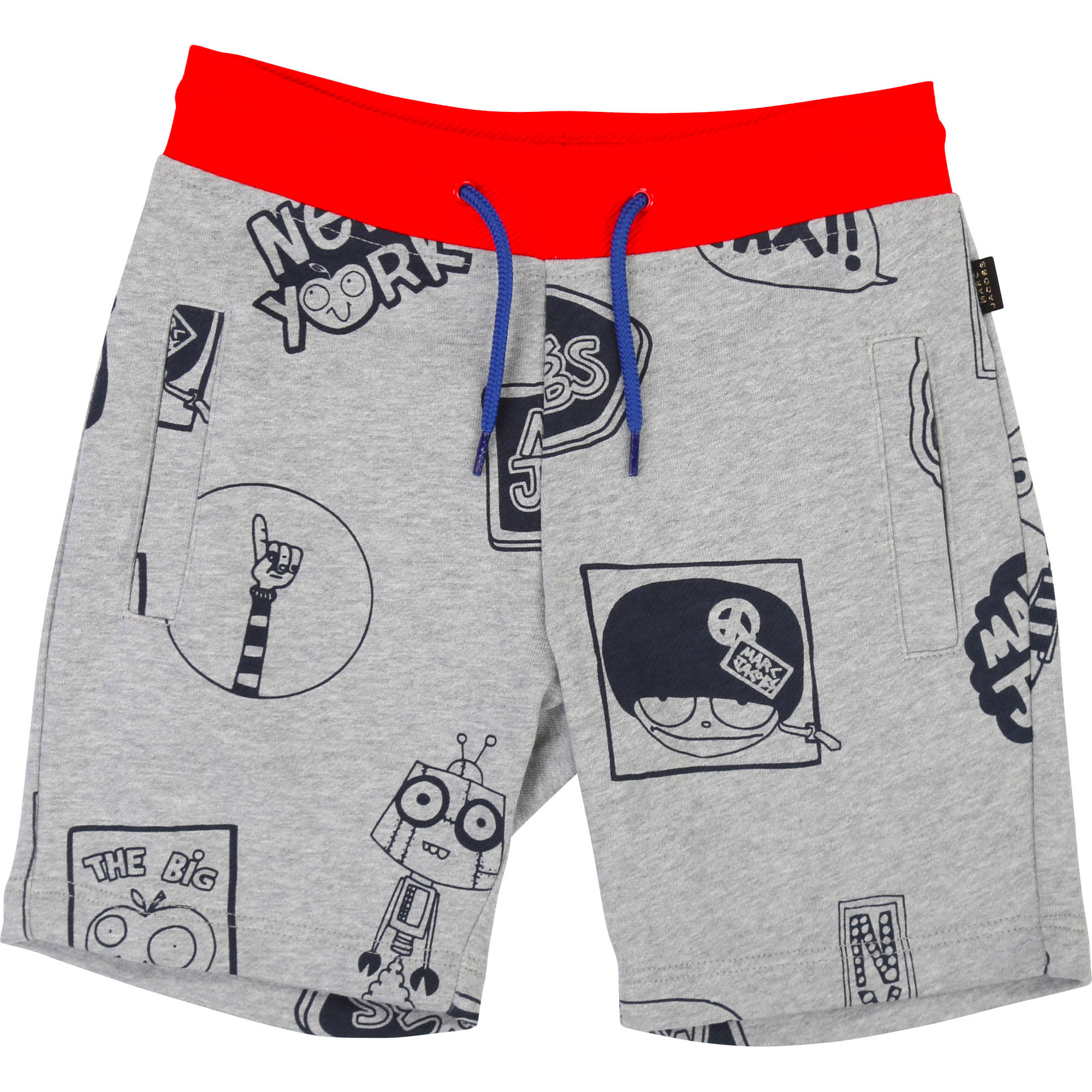 Printed bermuda jogging shorts THE MARC JACOBS for BOY