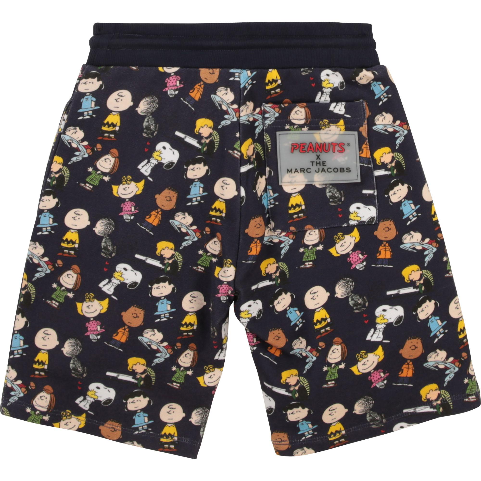 Cotton fleece shorts THE MARC JACOBS for BOY