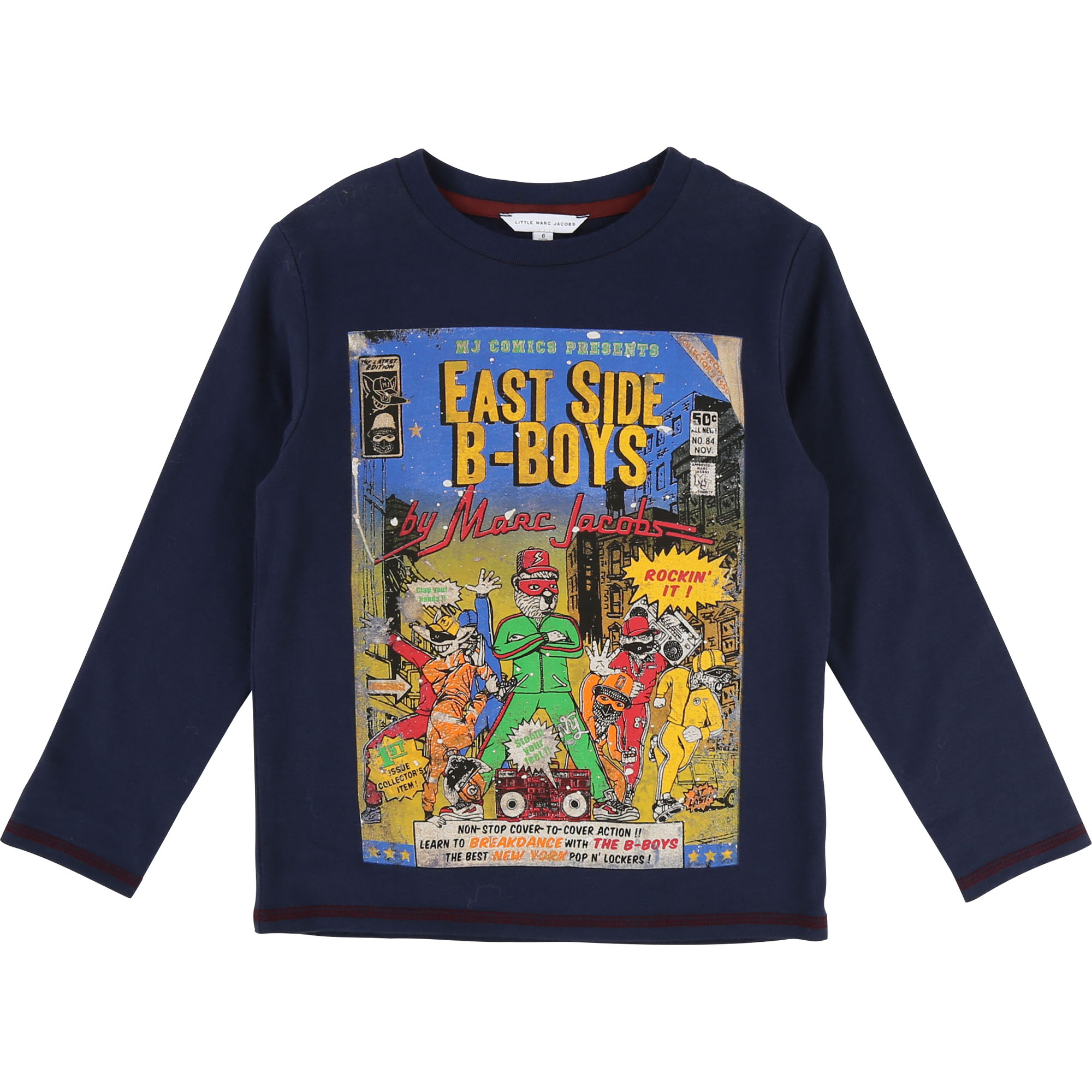 T-shirt with comics print LITTLE MARC JACOBS for BOY