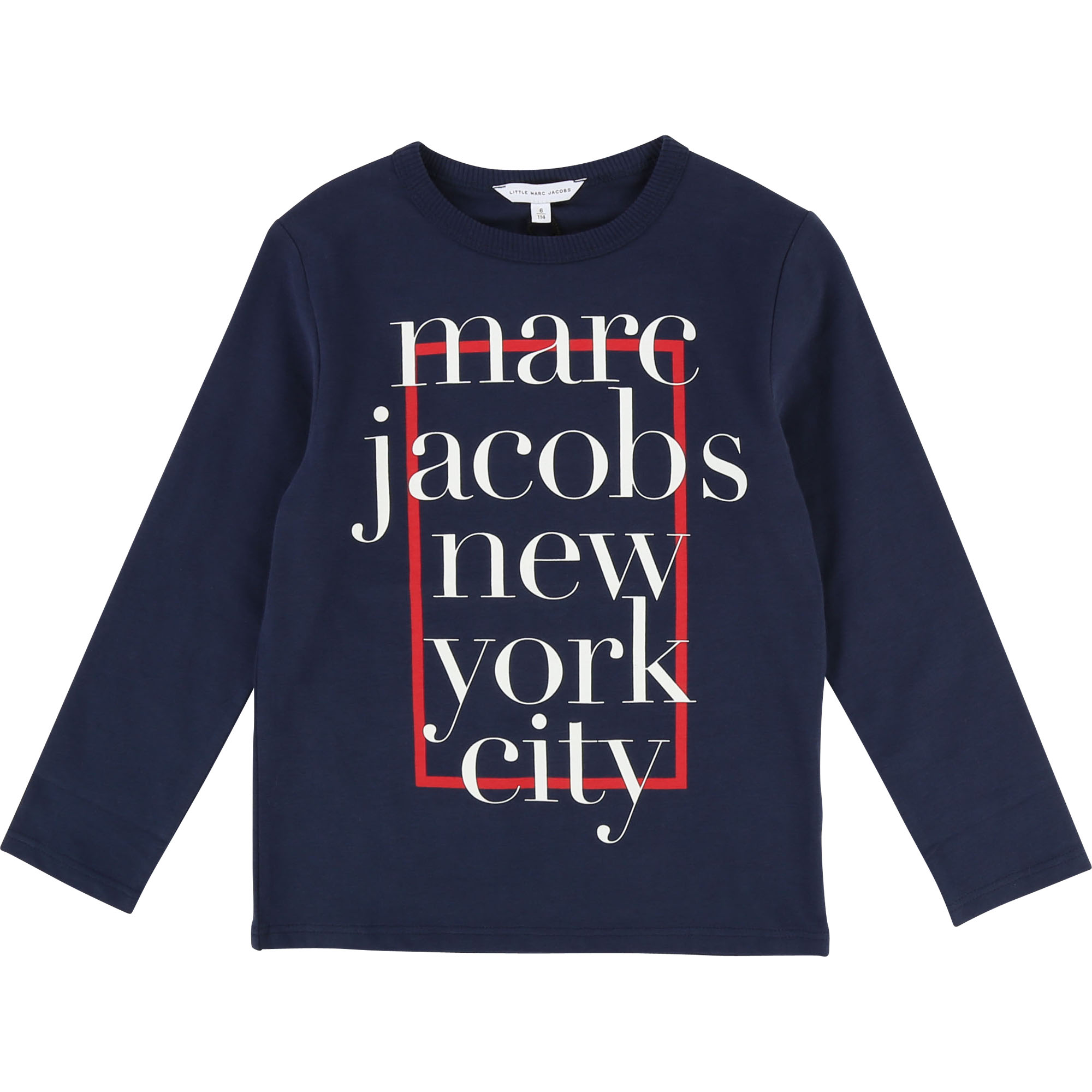 T-shirt with logo illustration LITTLE MARC JACOBS for BOY