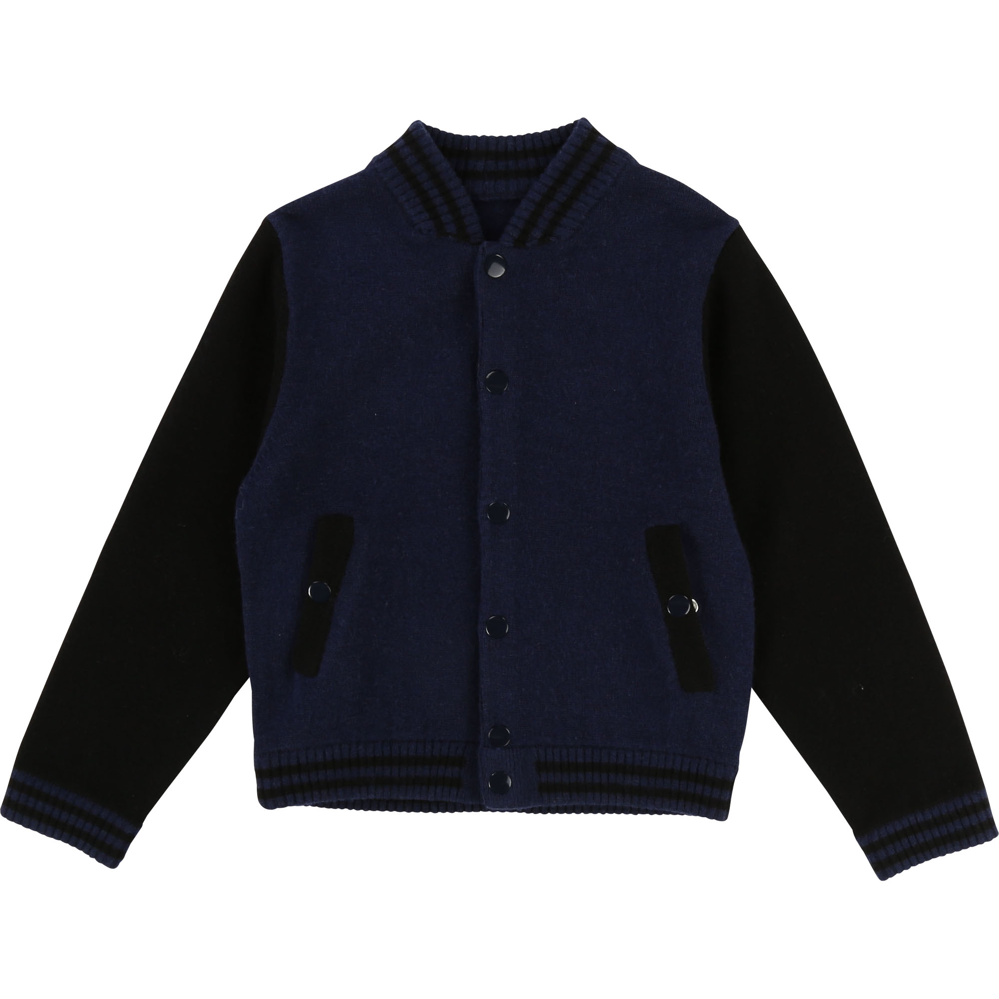 Two-tone knit cardigan THE MARC JACOBS for BOY