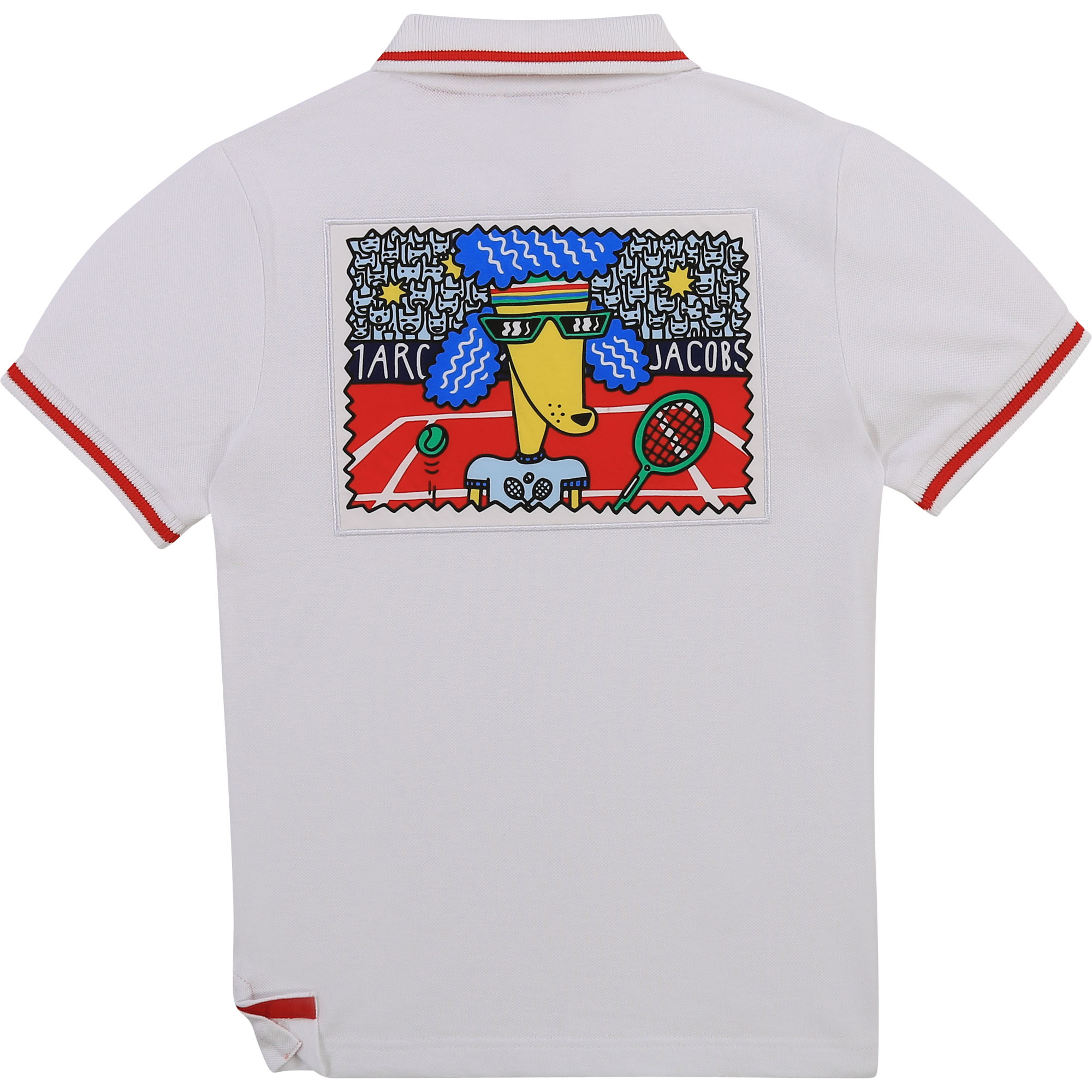 Short-sleeved logo polo shirt THE MARC JACOBS for BOY