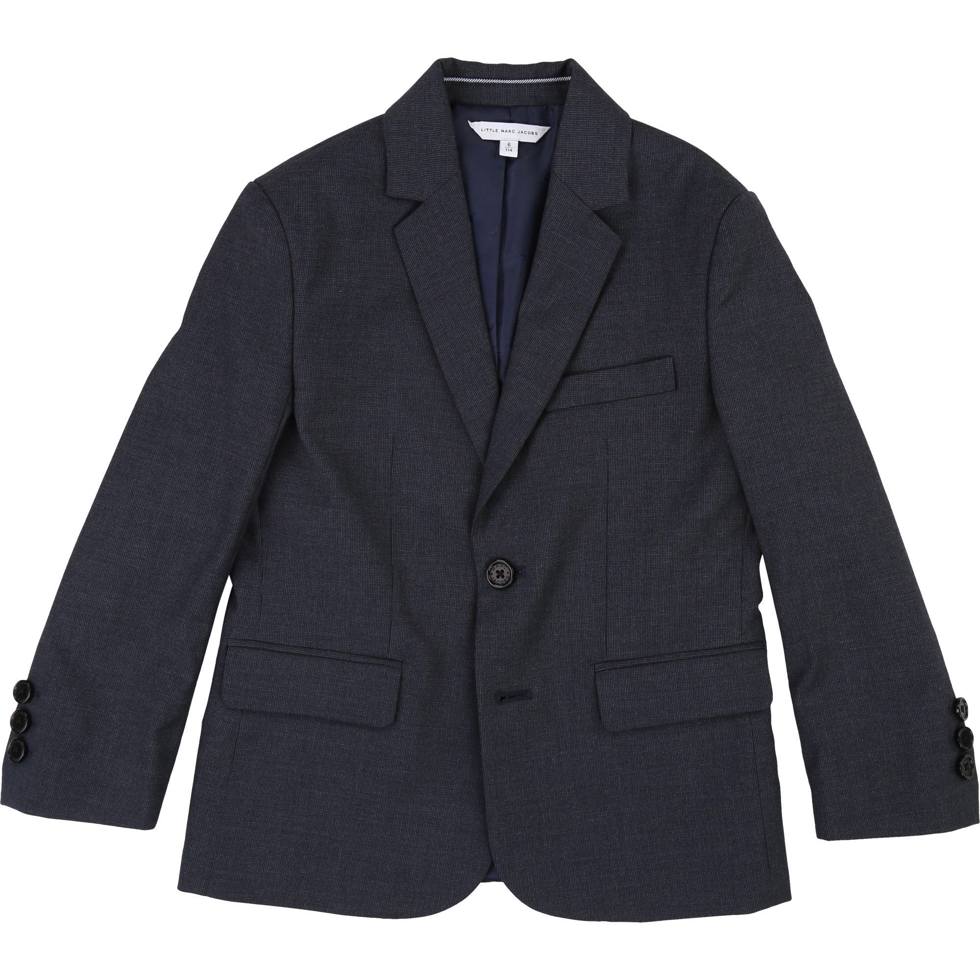 Veste denim en twill coton LITTLE MARC JACOBS pour GARCON