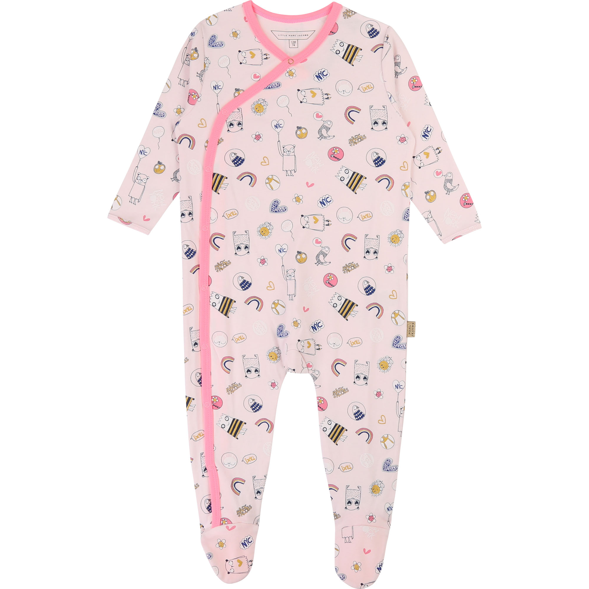 Pyjama en interlock imprimé LITTLE MARC JACOBS pour UNISEXE
