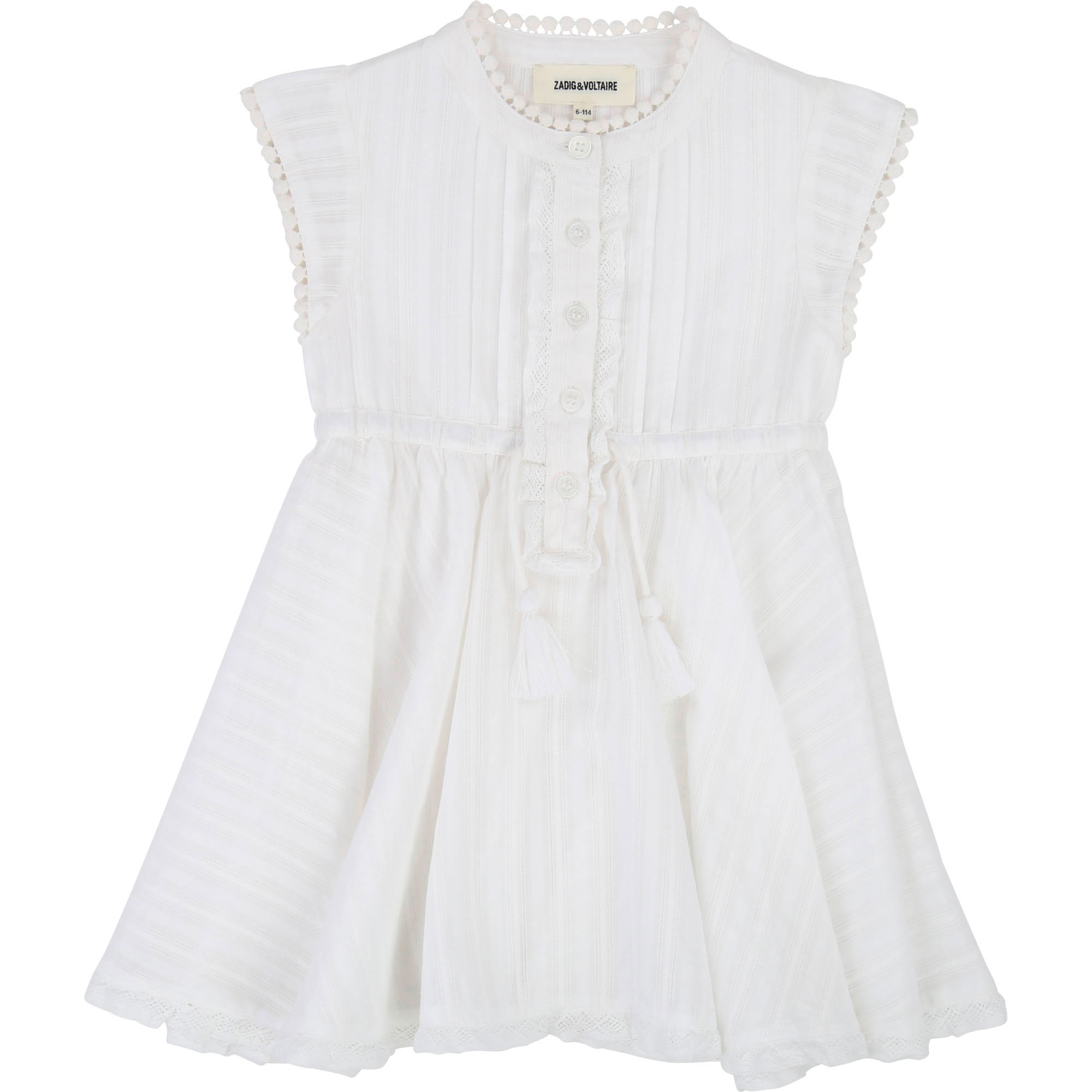 Sleeveless cotton dress ZADIG & VOLTAIRE for UNISEX