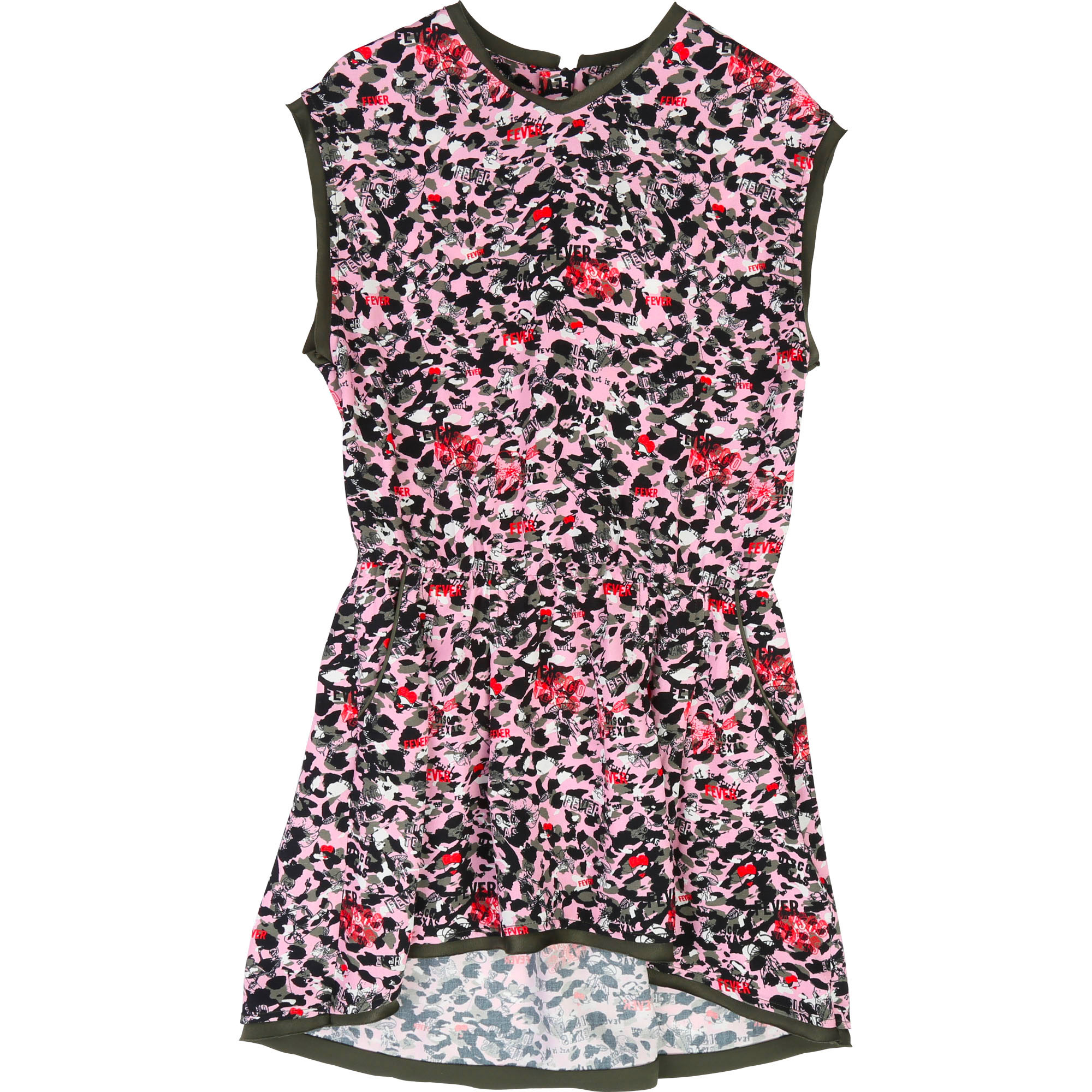 Printed sleeveless dress ZADIG & VOLTAIRE for GIRL