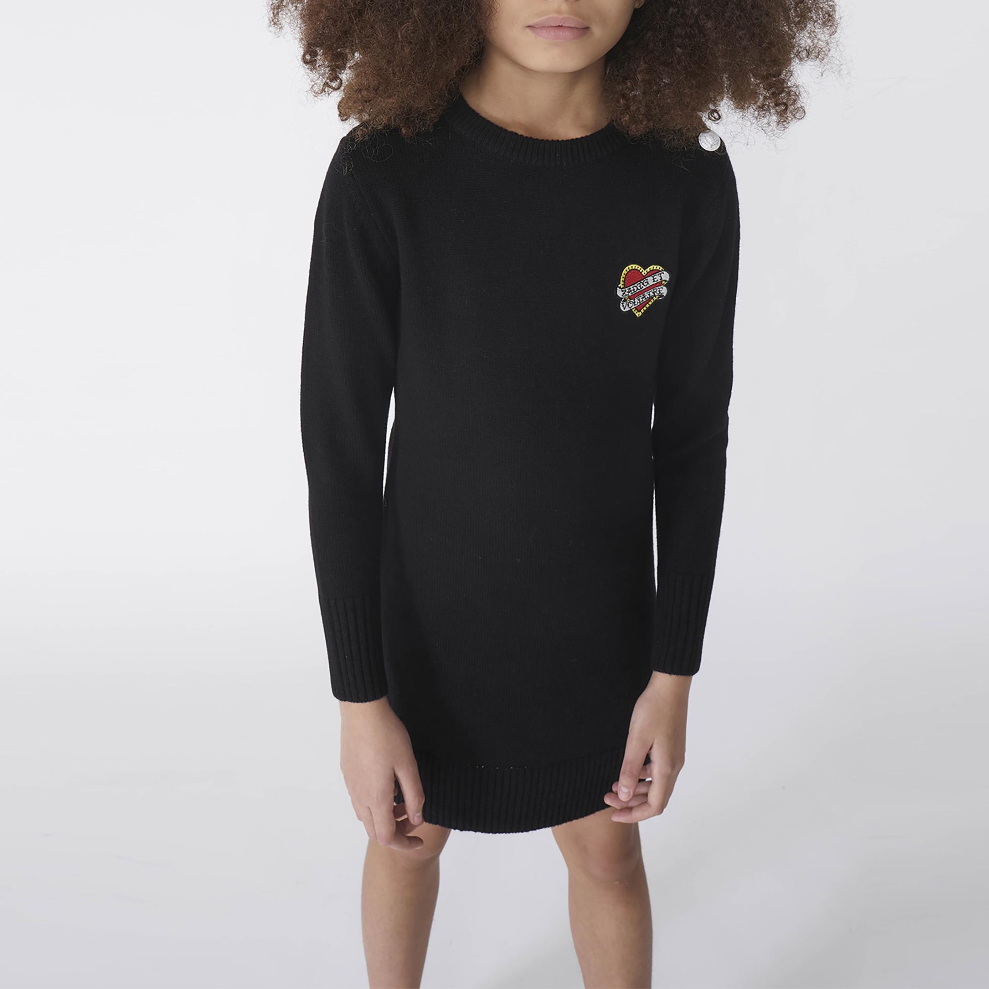 LONG SLEEVED DRESS ZADIG & VOLTAIRE for GIRL