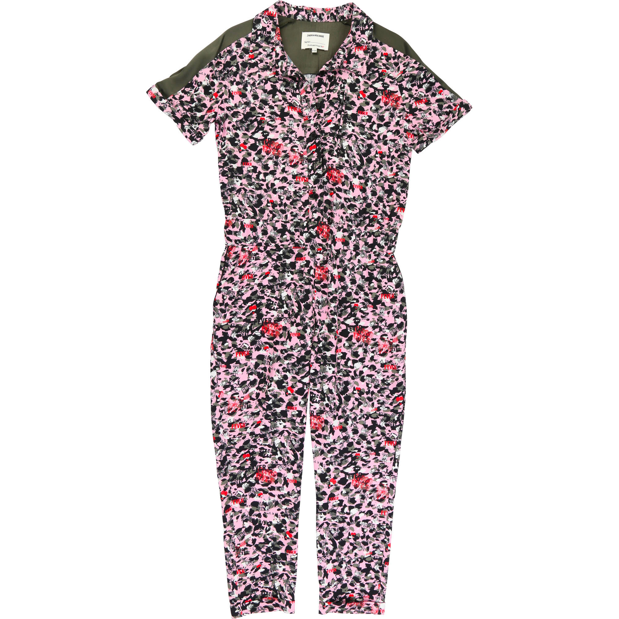 Printed long jumpsuit ZADIG & VOLTAIRE for GIRL
