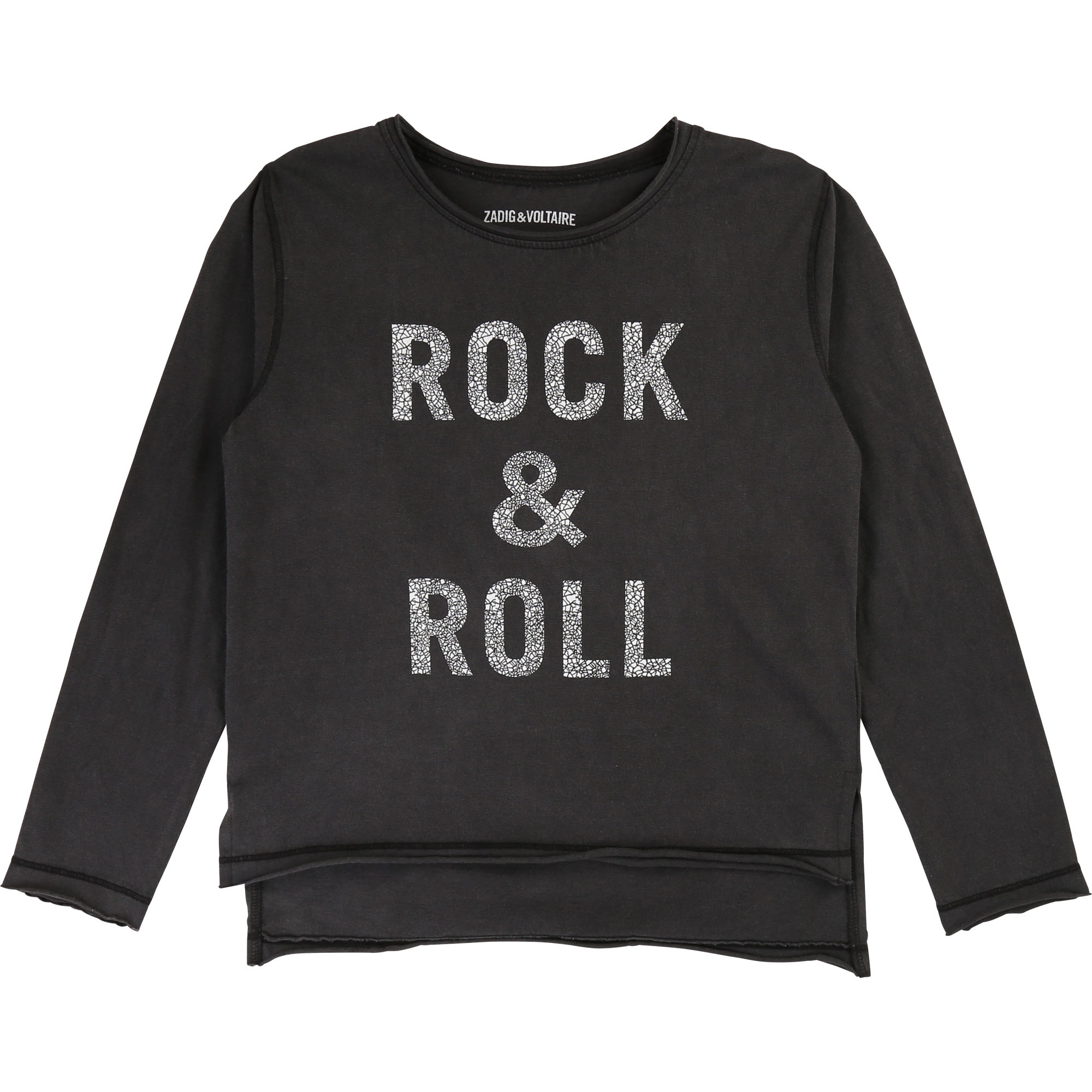 Cotton jersey T-shirt ZADIG & VOLTAIRE for GIRL