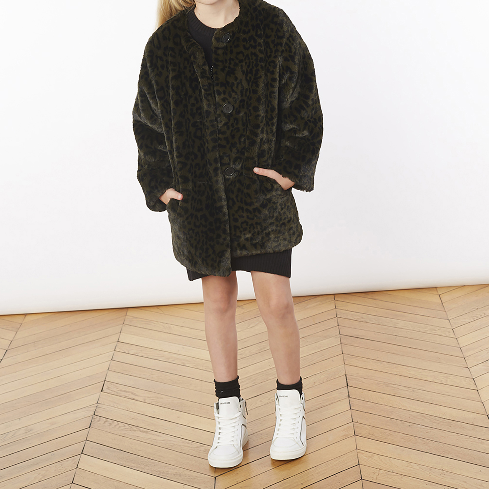 Faux fur coat ZADIG & VOLTAIRE for GIRL