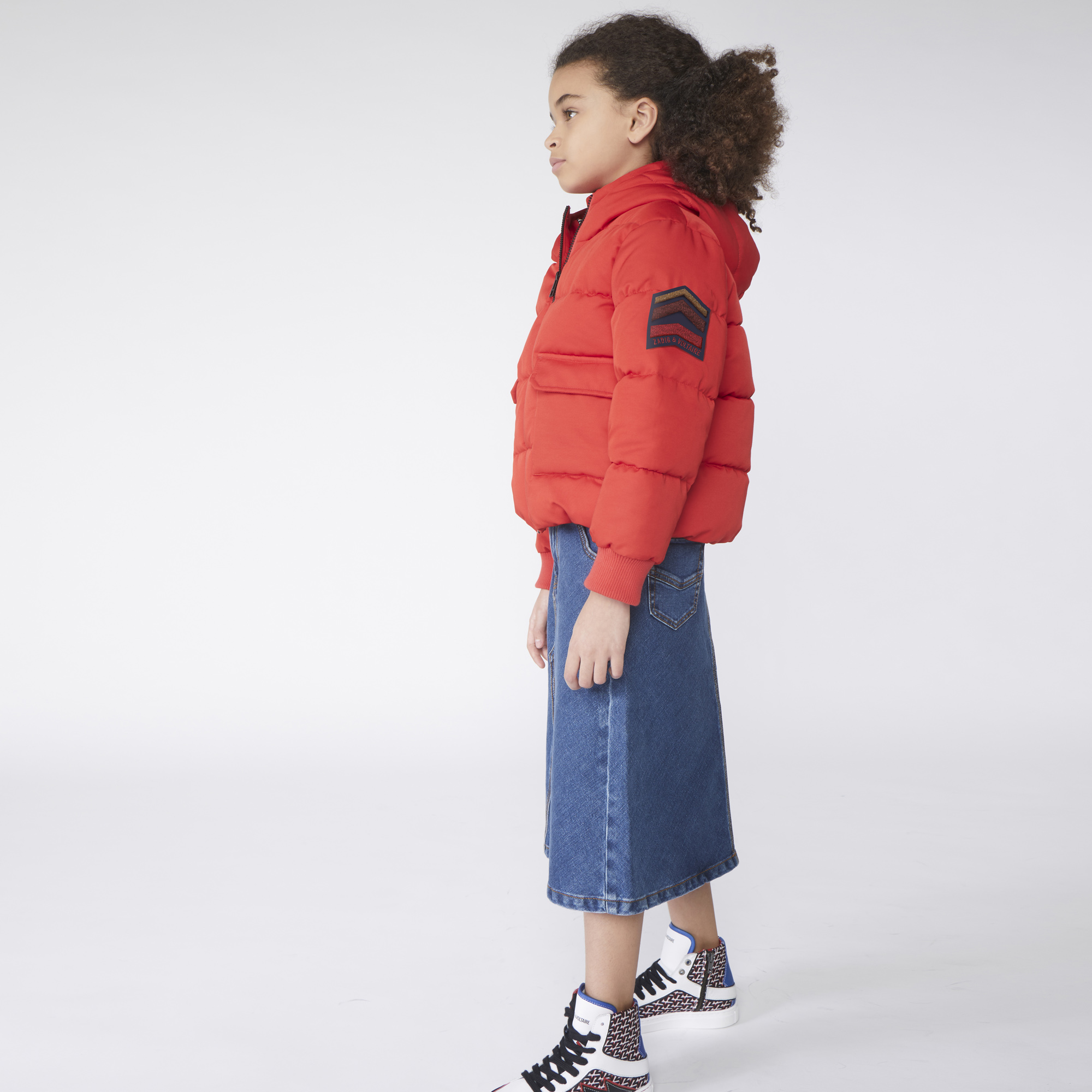 PUFFER JACKET ZADIG & VOLTAIRE for GIRL
