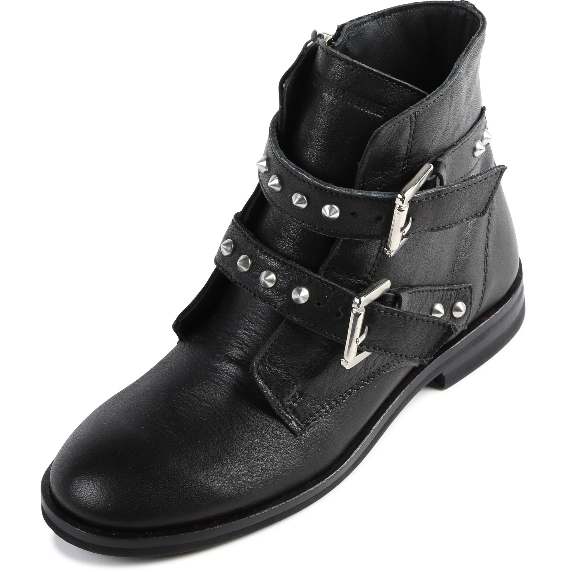 Stud-detail leather boots ZADIG & VOLTAIRE for GIRL