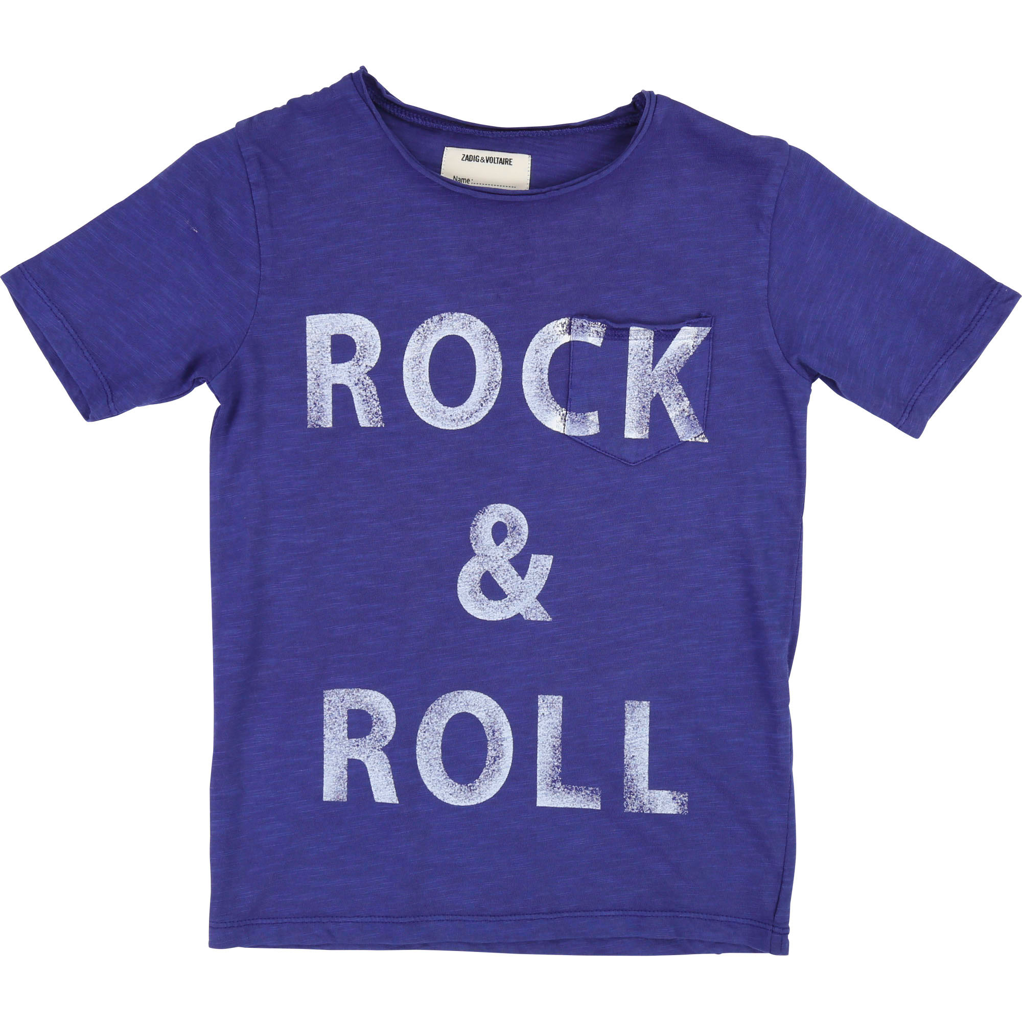 T-shirt jersey Rock 'n' Roll ZADIG & VOLTAIRE pour GARCON