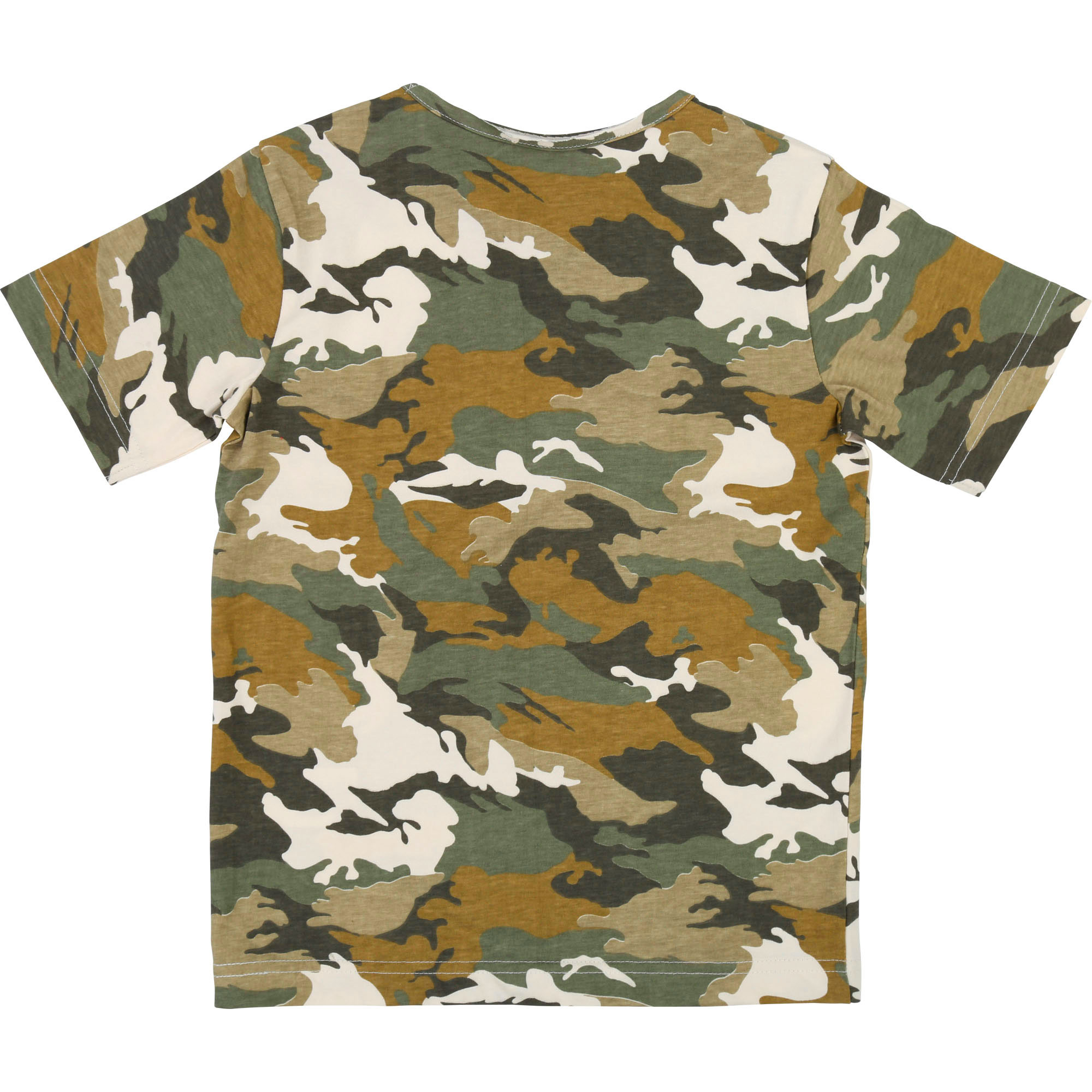 T-shirt camouflage jersey ZADIG & VOLTAIRE pour GARCON