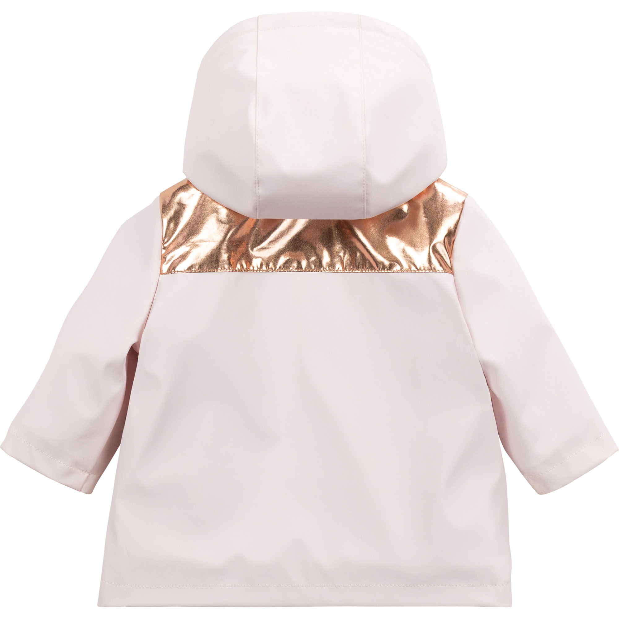 Waterproof hooded rain jacket CARREMENT BEAU for GIRL