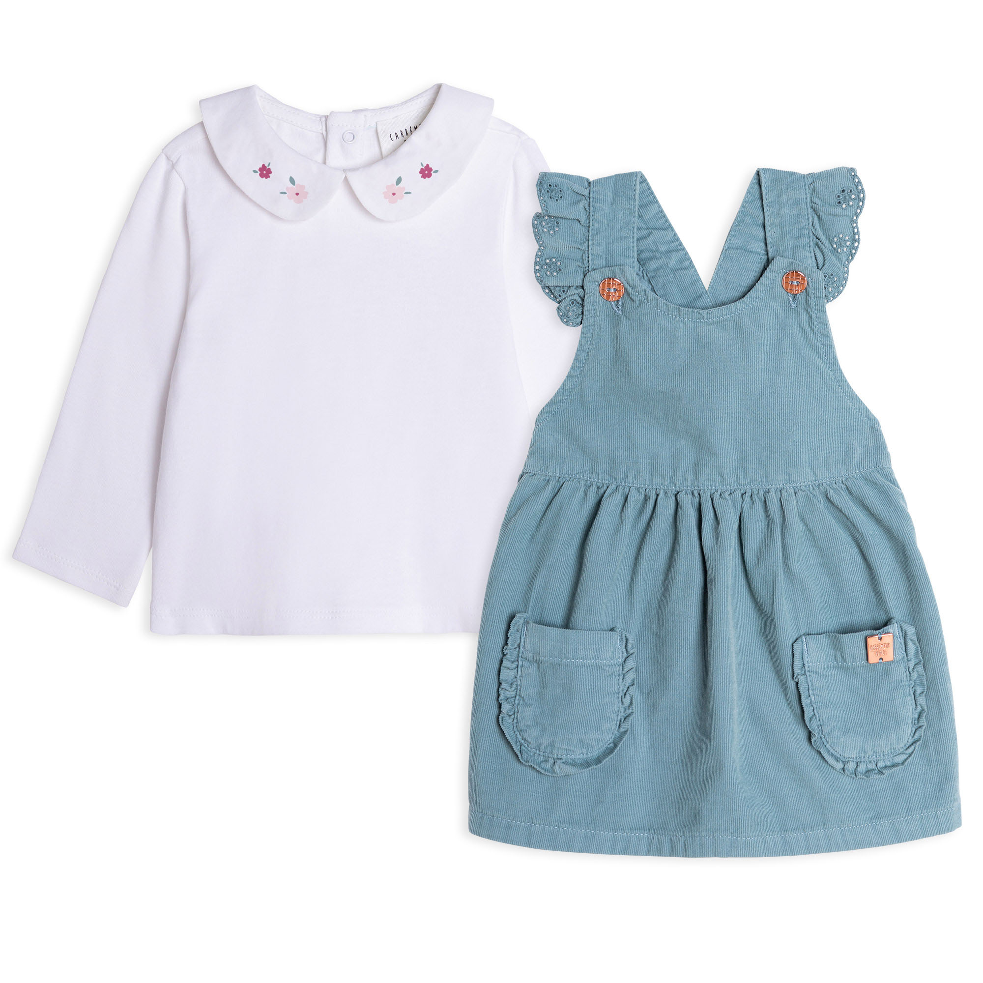 DRESS+T-SHIRT SET CARREMENT BEAU for GIRL