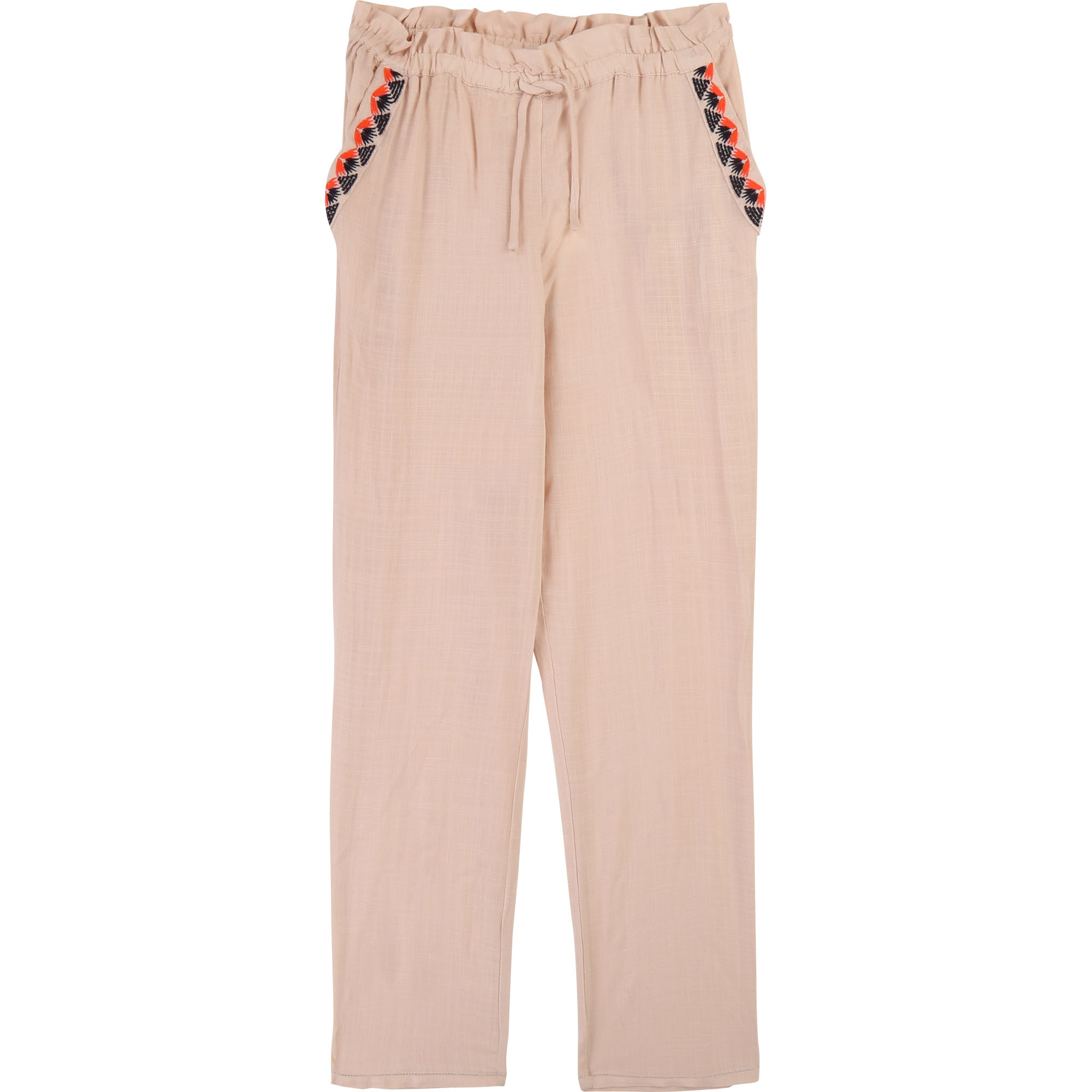 Embroidered pocket trousers CARREMENT BEAU for GIRL