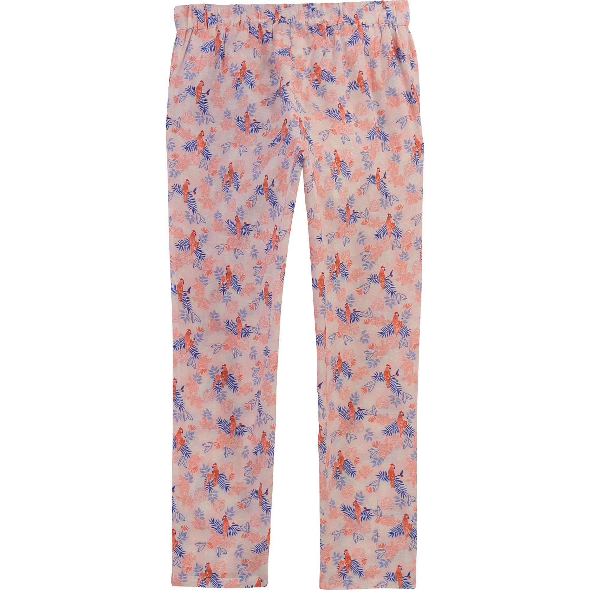 Pantalon avec ceinture à nouer CARREMENT BEAU pour FILLE