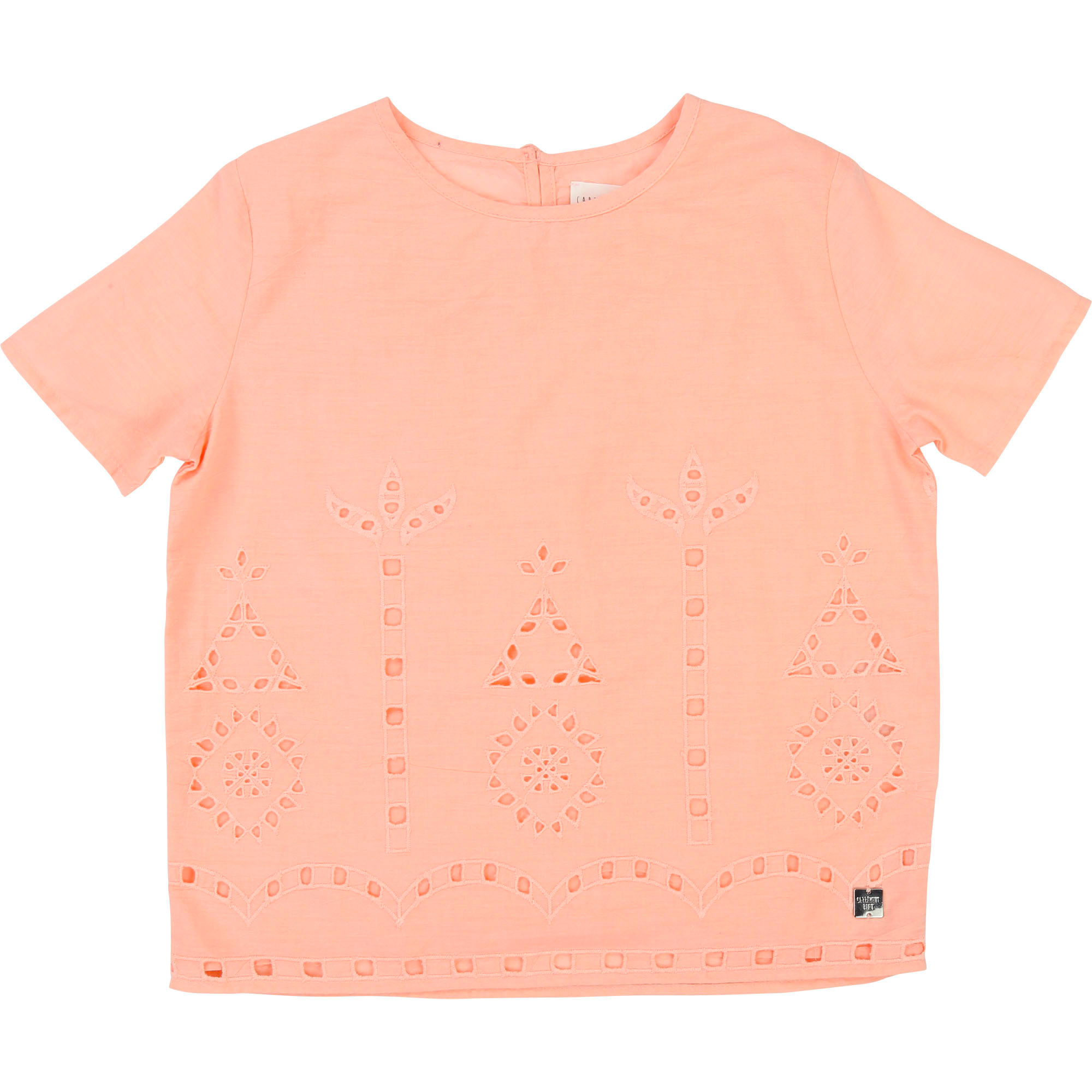Blouse broderie anglaise CARREMENT BEAU pour FILLE