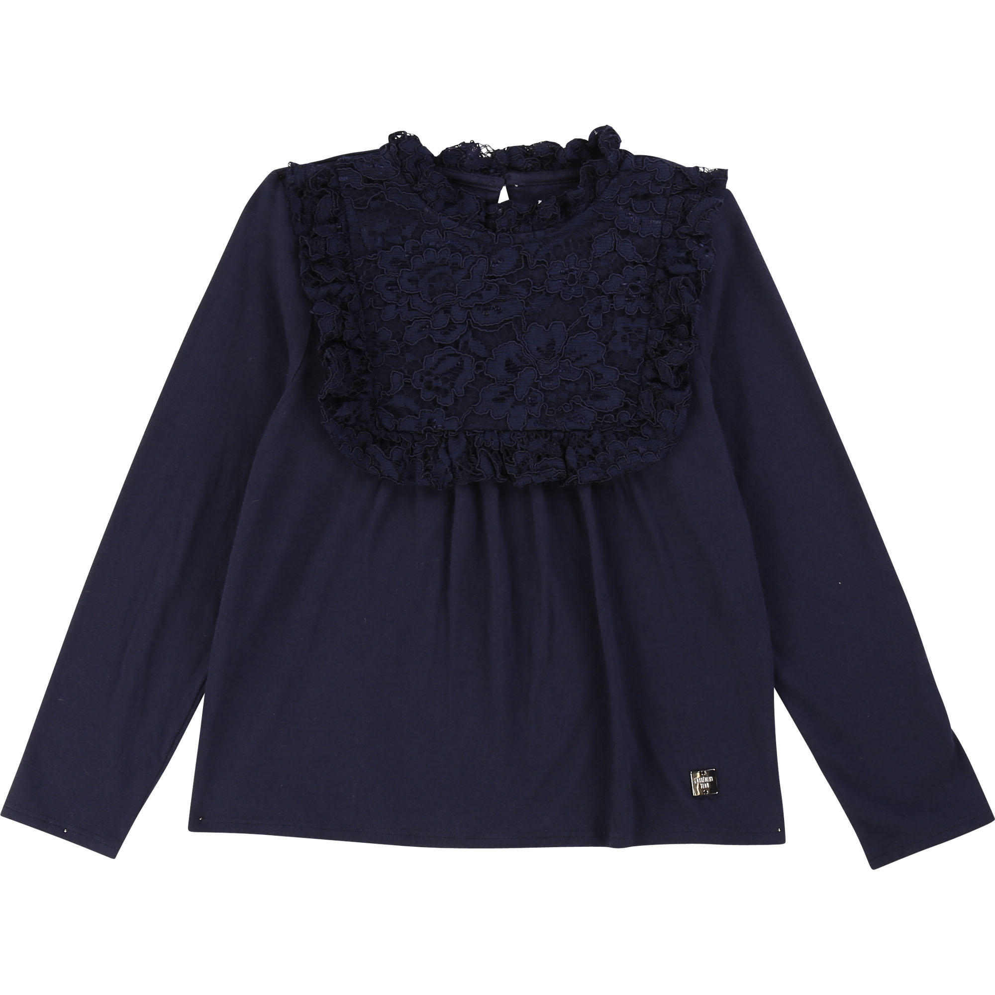 Lace formal T-shirt CARREMENT BEAU for GIRL