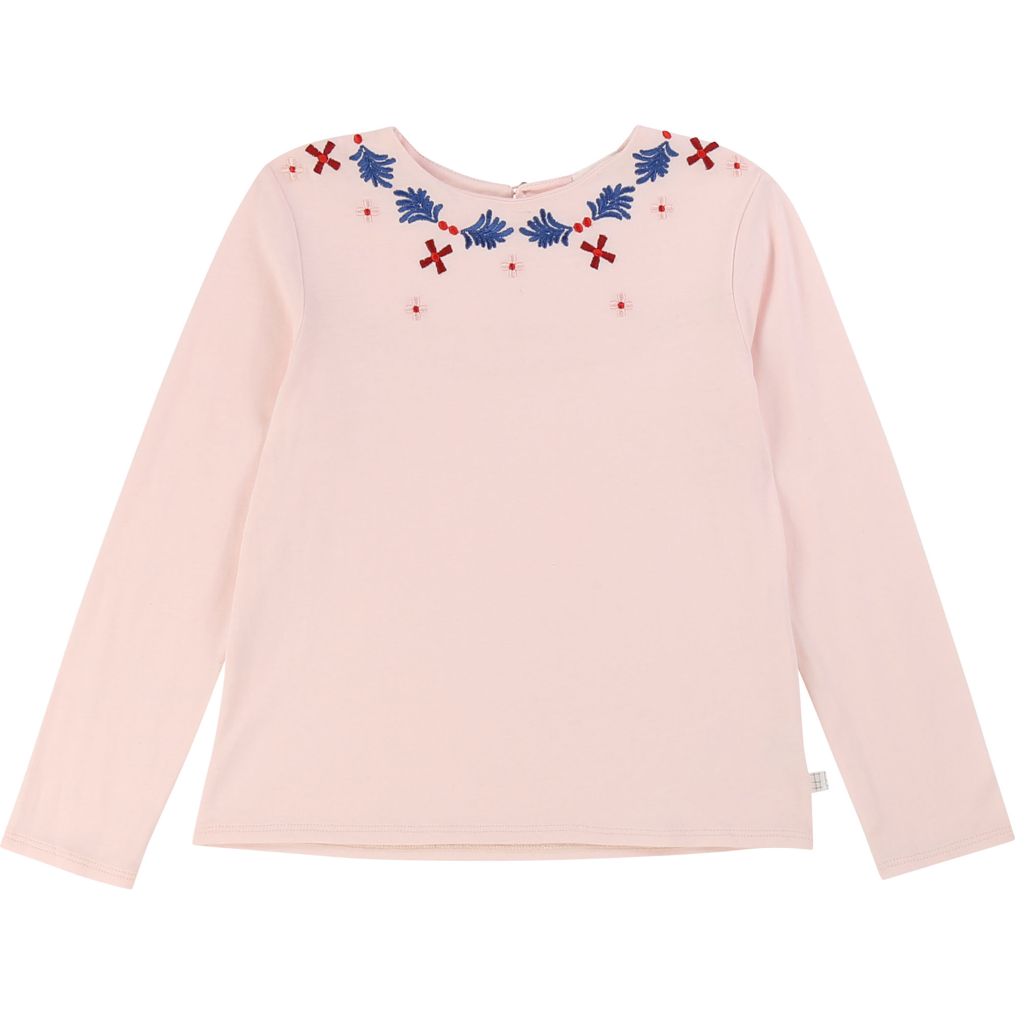 Cotton modal jersey T-shirt CARREMENT BEAU for GIRL