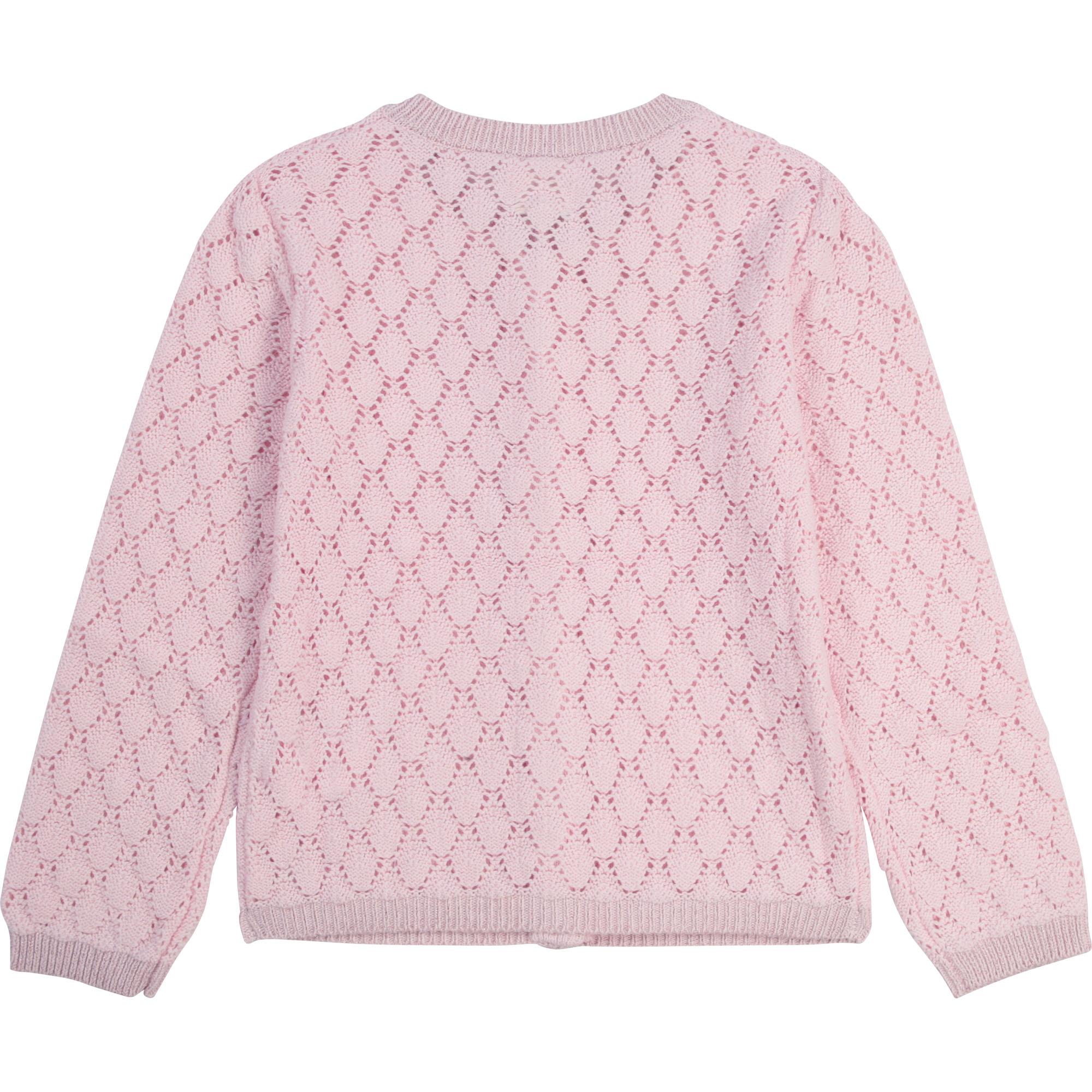 Cardigan en tricot fantaisie CARREMENT BEAU pour FILLE