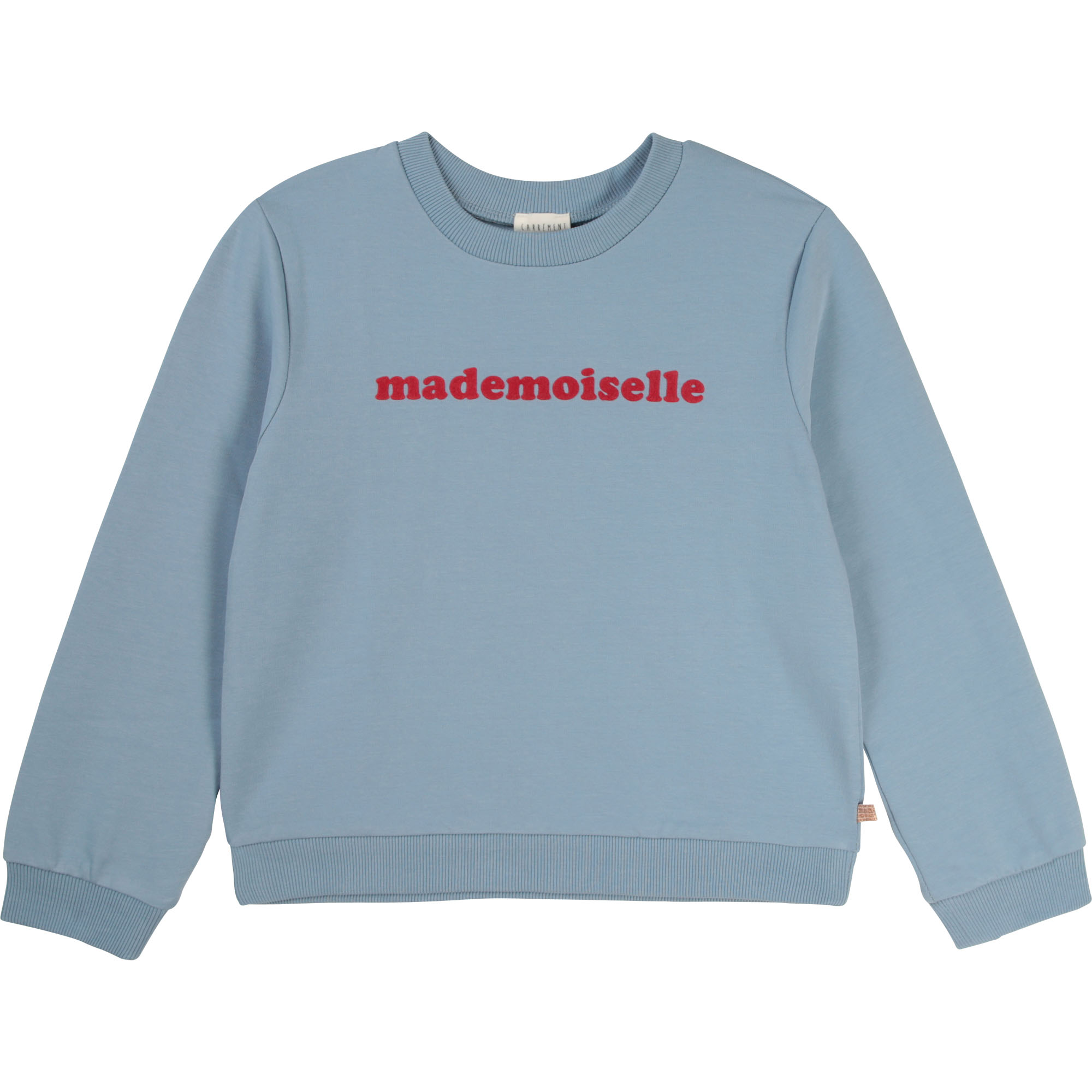 Fleece message sweatshirt CARREMENT BEAU for GIRL