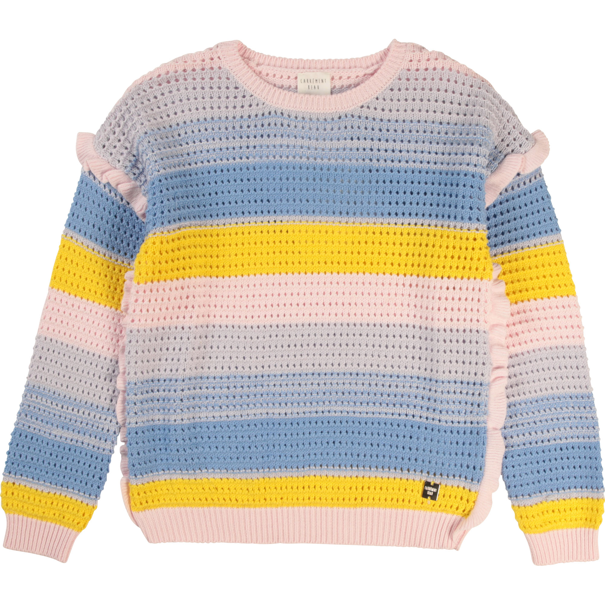 Novelty knit sweater CARREMENT BEAU for GIRL