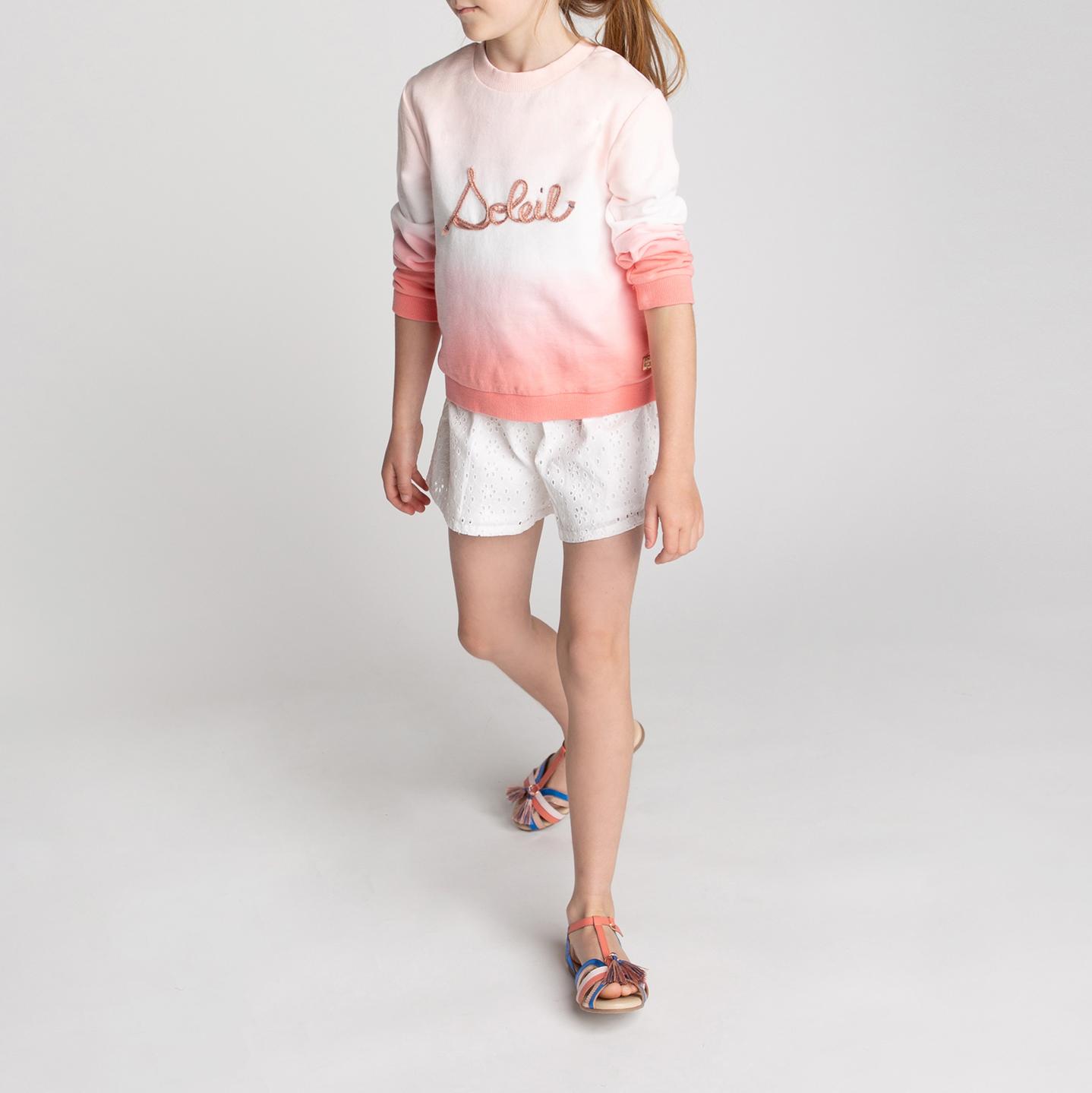 Organic fleece sweatshirt CARREMENT BEAU for GIRL