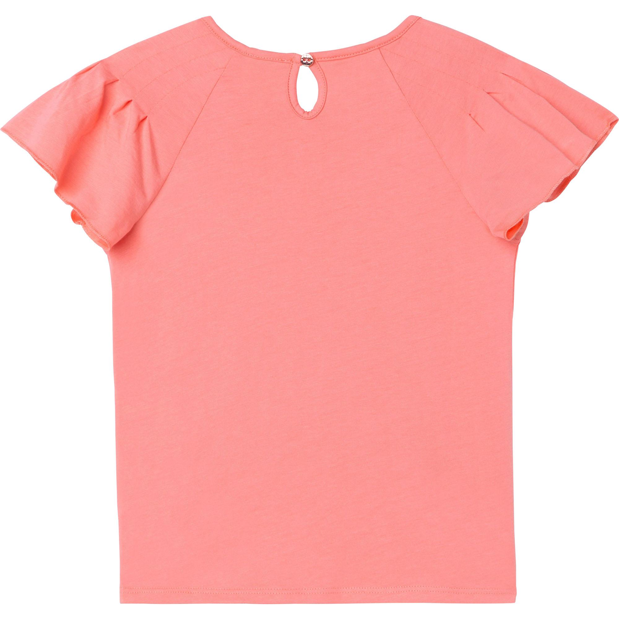 T-shirt en jersey de coton bio CARREMENT BEAU pour FILLE