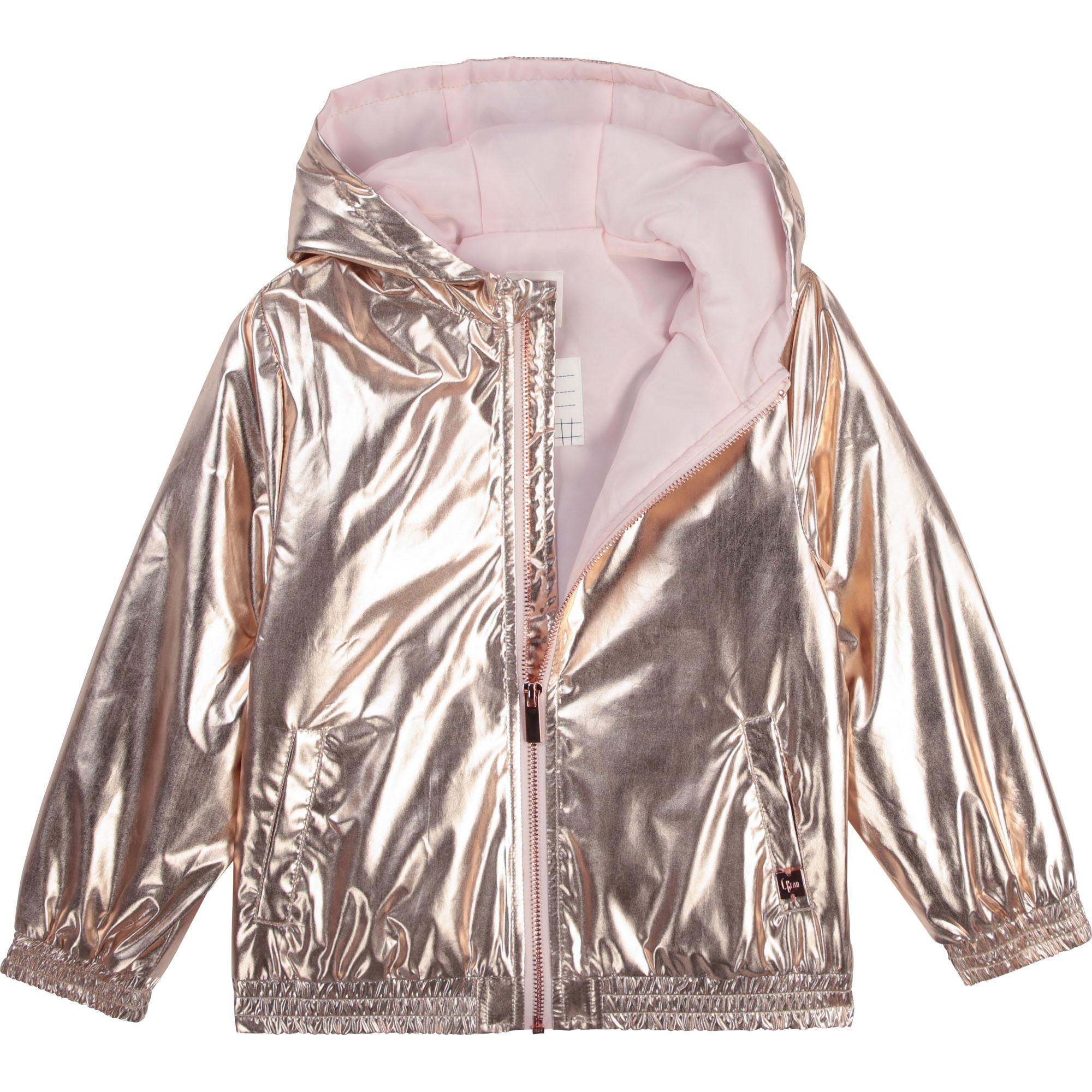 Waterproof hooded jacket CARREMENT BEAU for GIRL