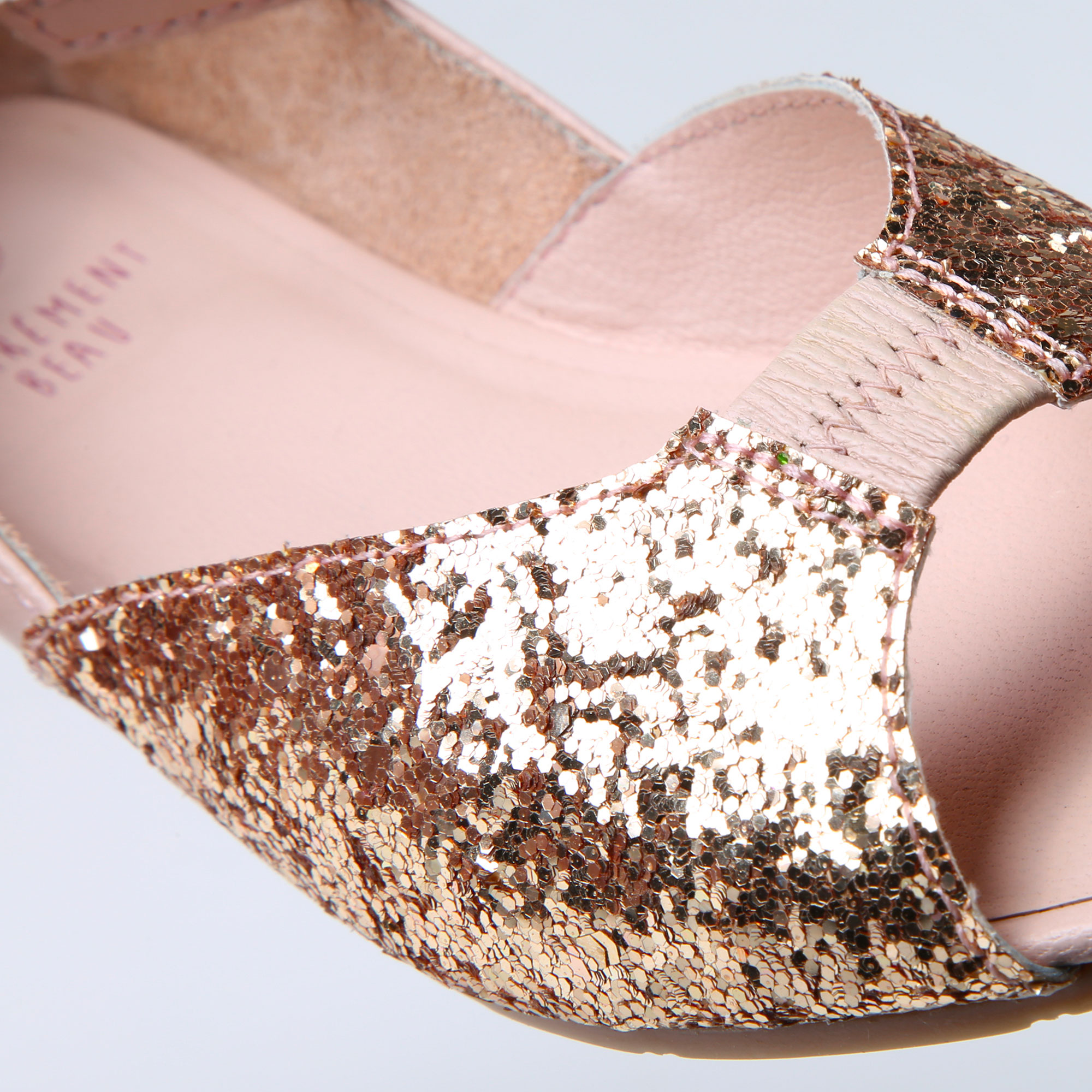 Sequined ballet flats CARREMENT BEAU for GIRL