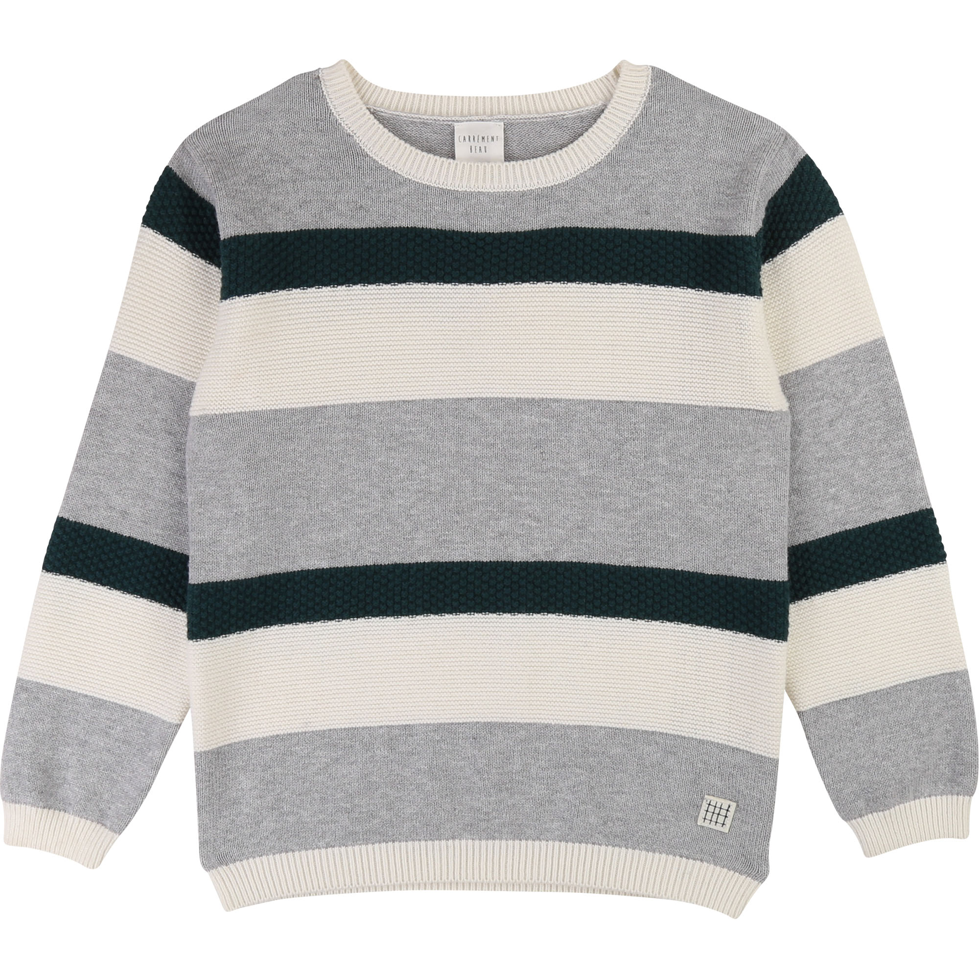 Cotton and wool knit jumper CARREMENT BEAU for BOY