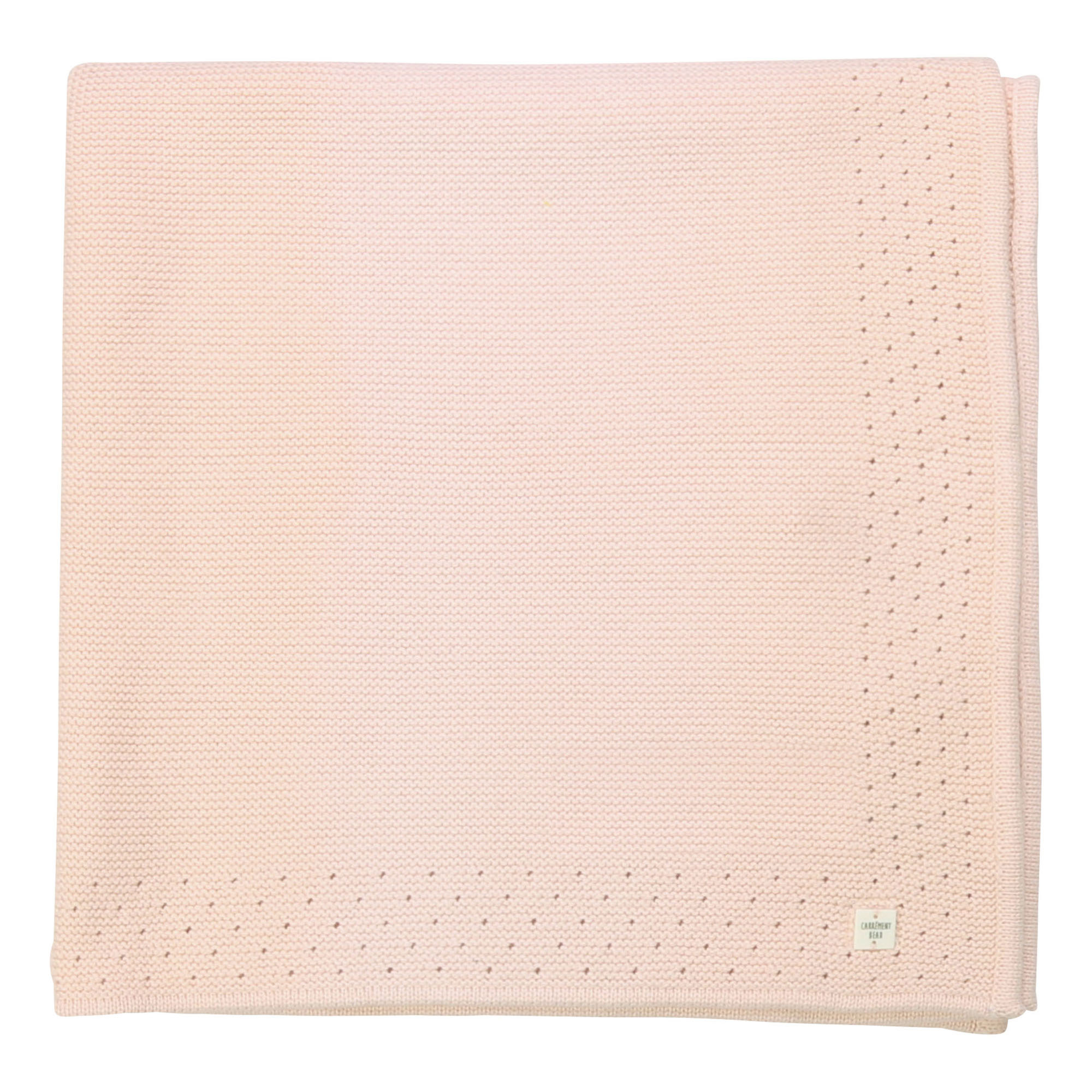 Cotton and wool blanket CARREMENT BEAU for GIRL