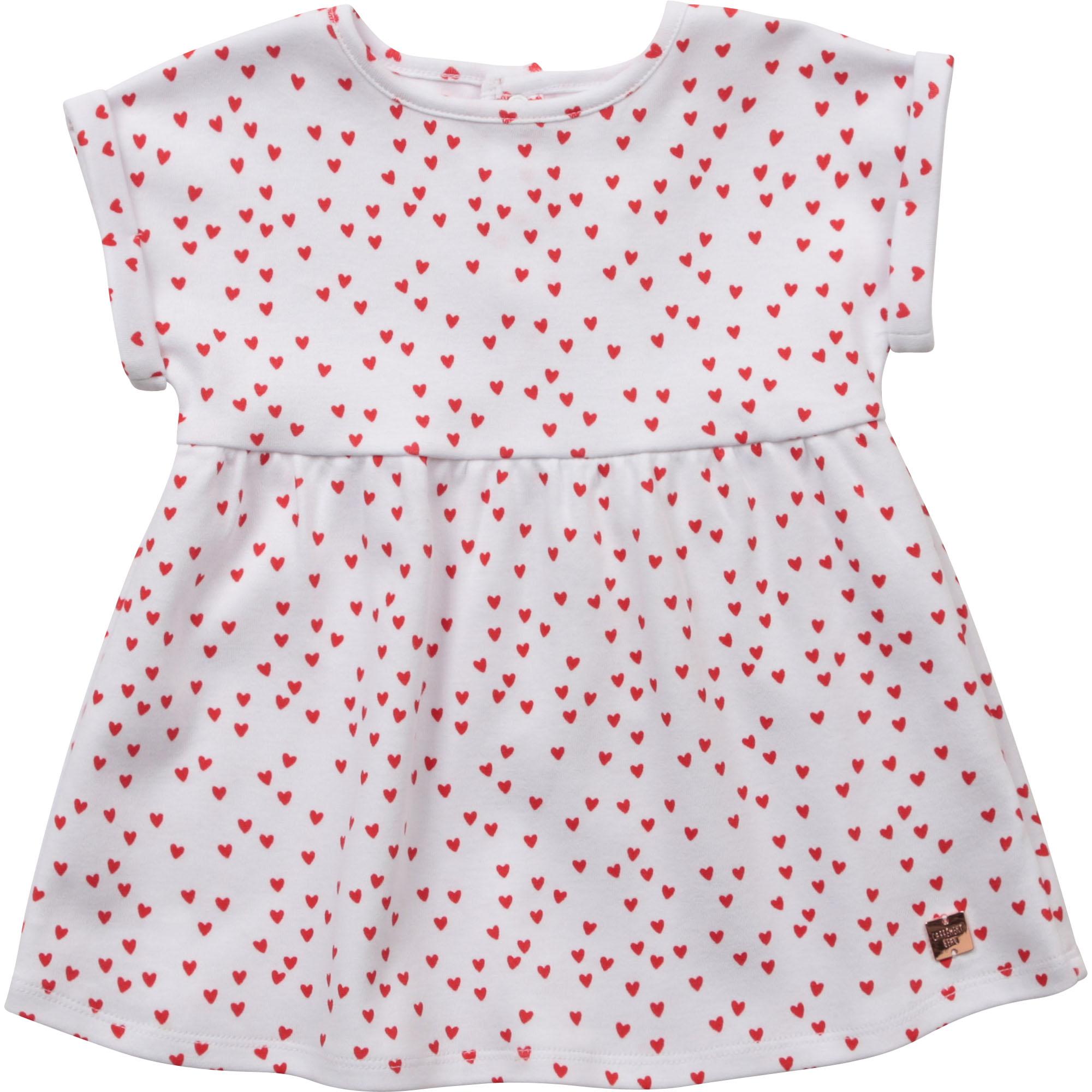 Organic cotton dress CARREMENT BEAU for GIRL