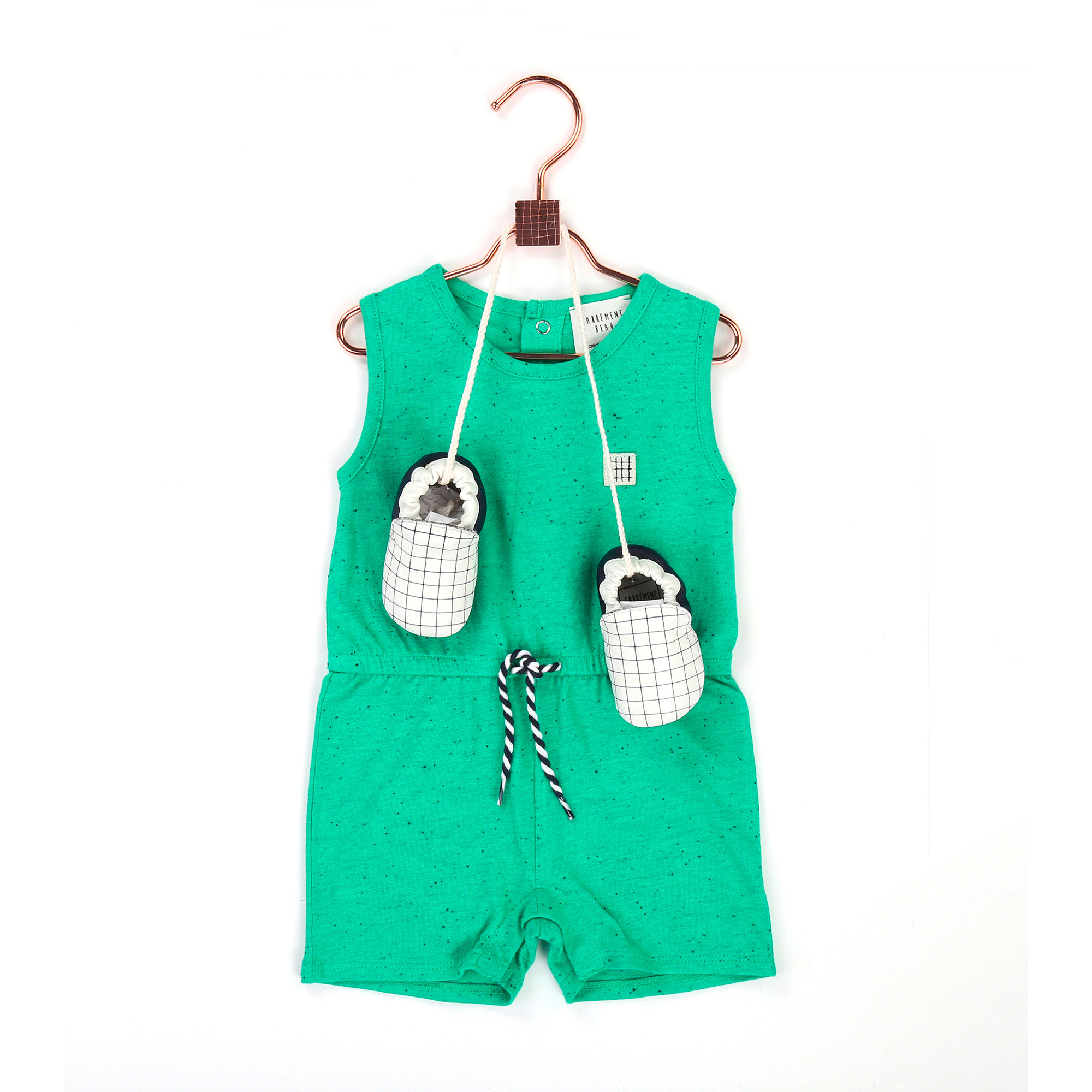 Flecked jersey playsuit CARREMENT BEAU for BOY