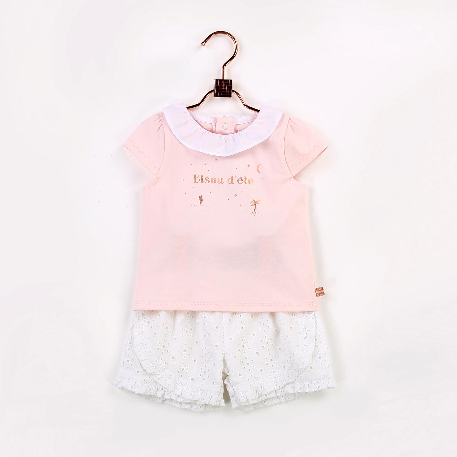 Organic cotton T-shirt CARREMENT BEAU for GIRL