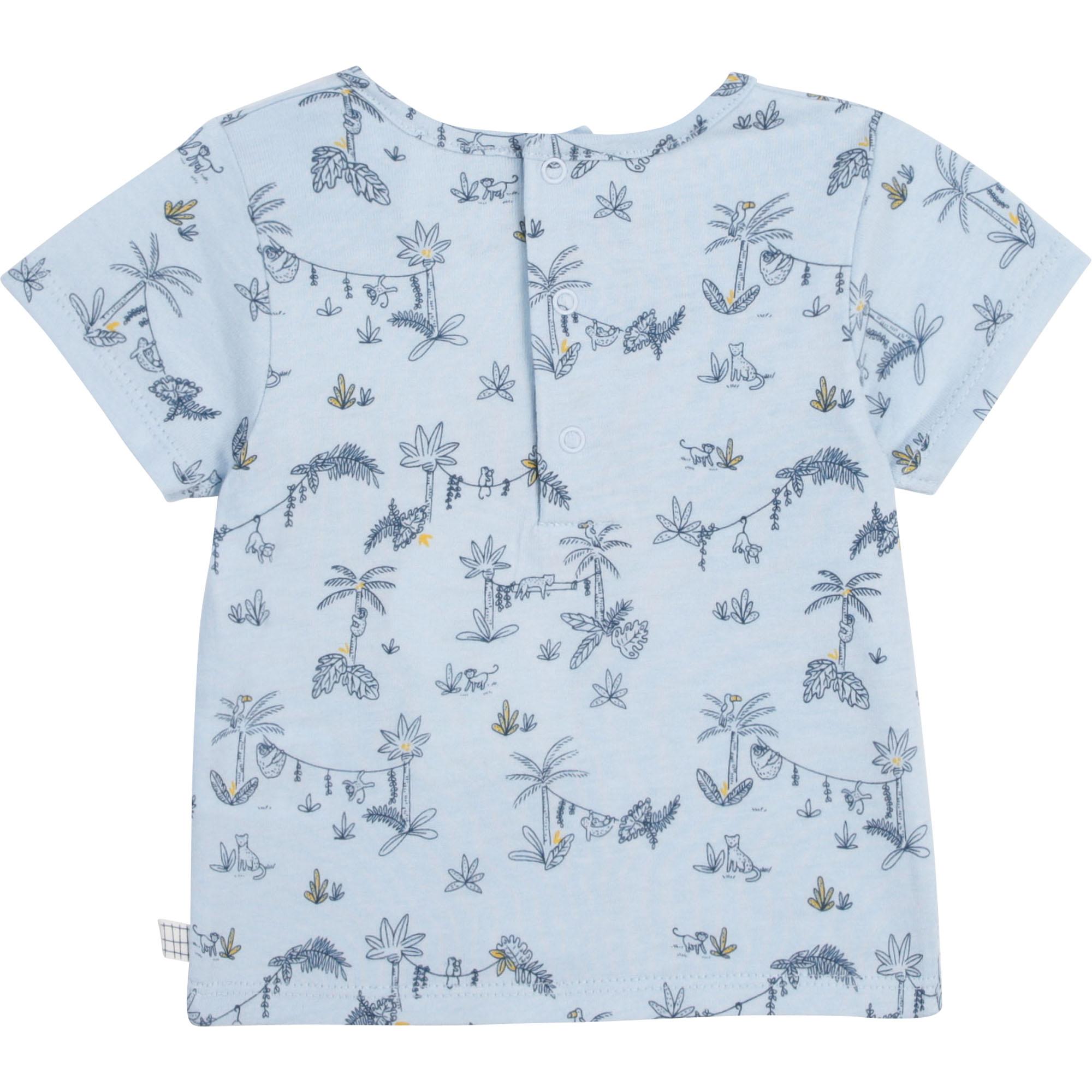 T-shirt fantaisie en coton bio CARREMENT BEAU pour GARCON