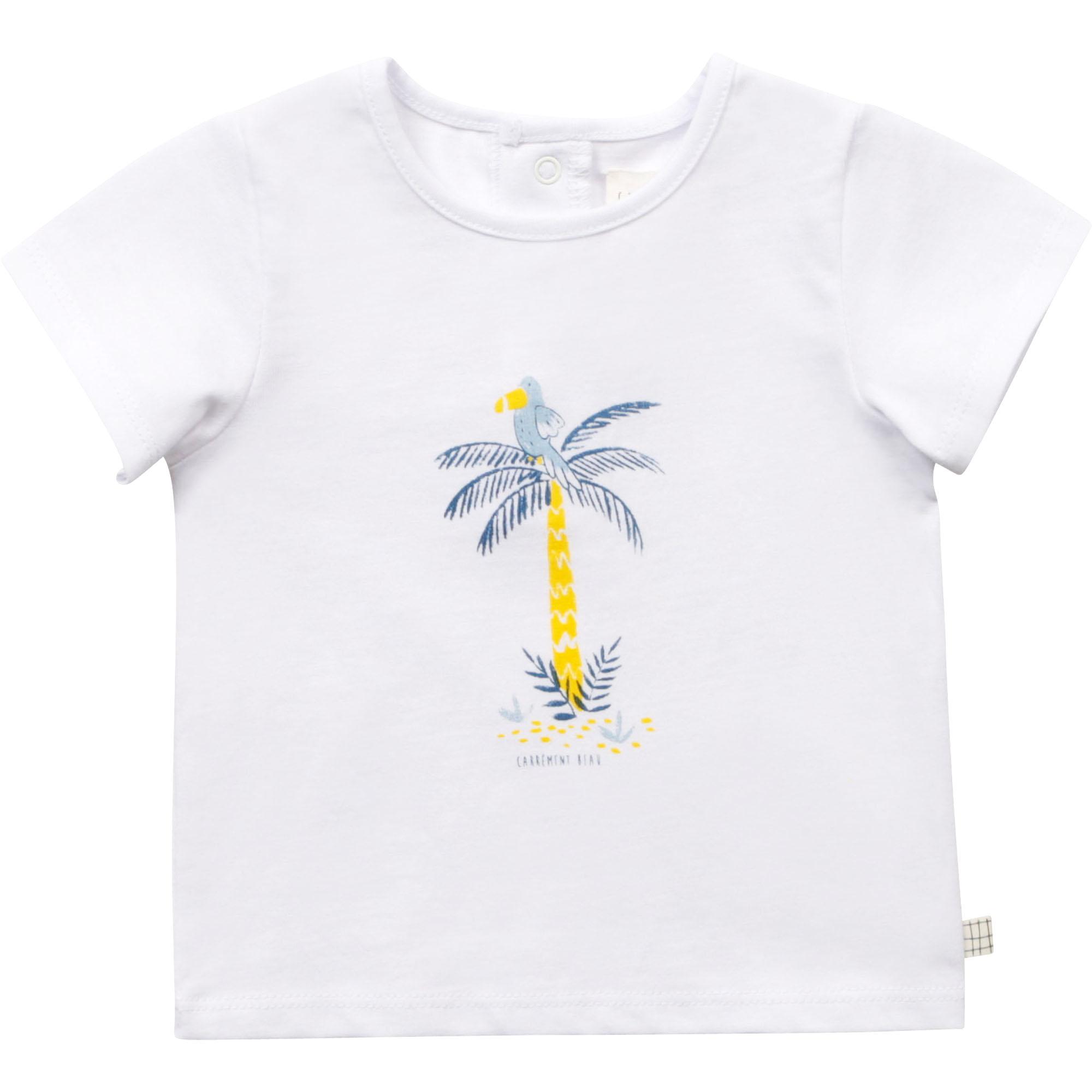 Organic cotton T-shirt CARREMENT BEAU for BOY