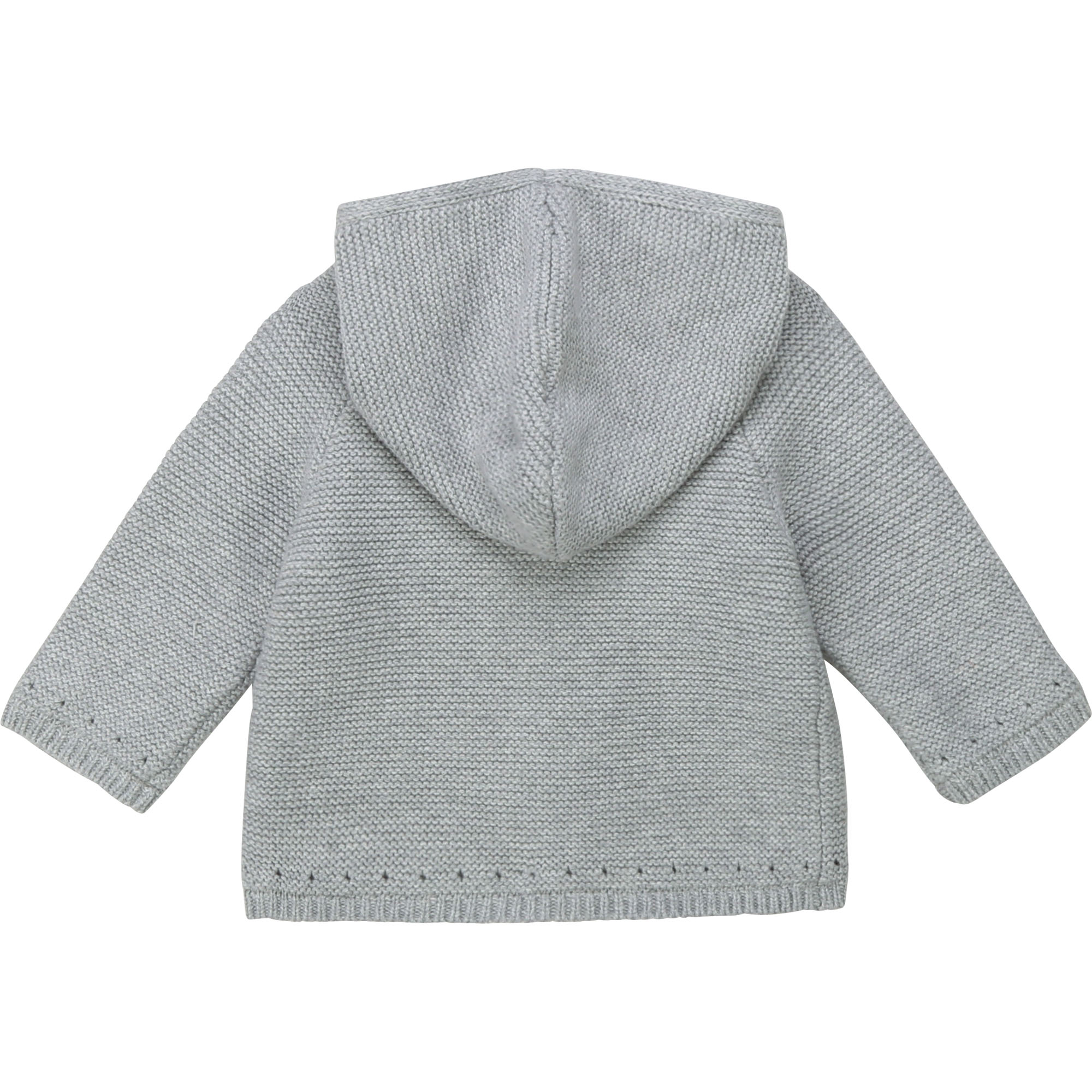 Wool and cotton knit coat CARREMENT BEAU for GIRL