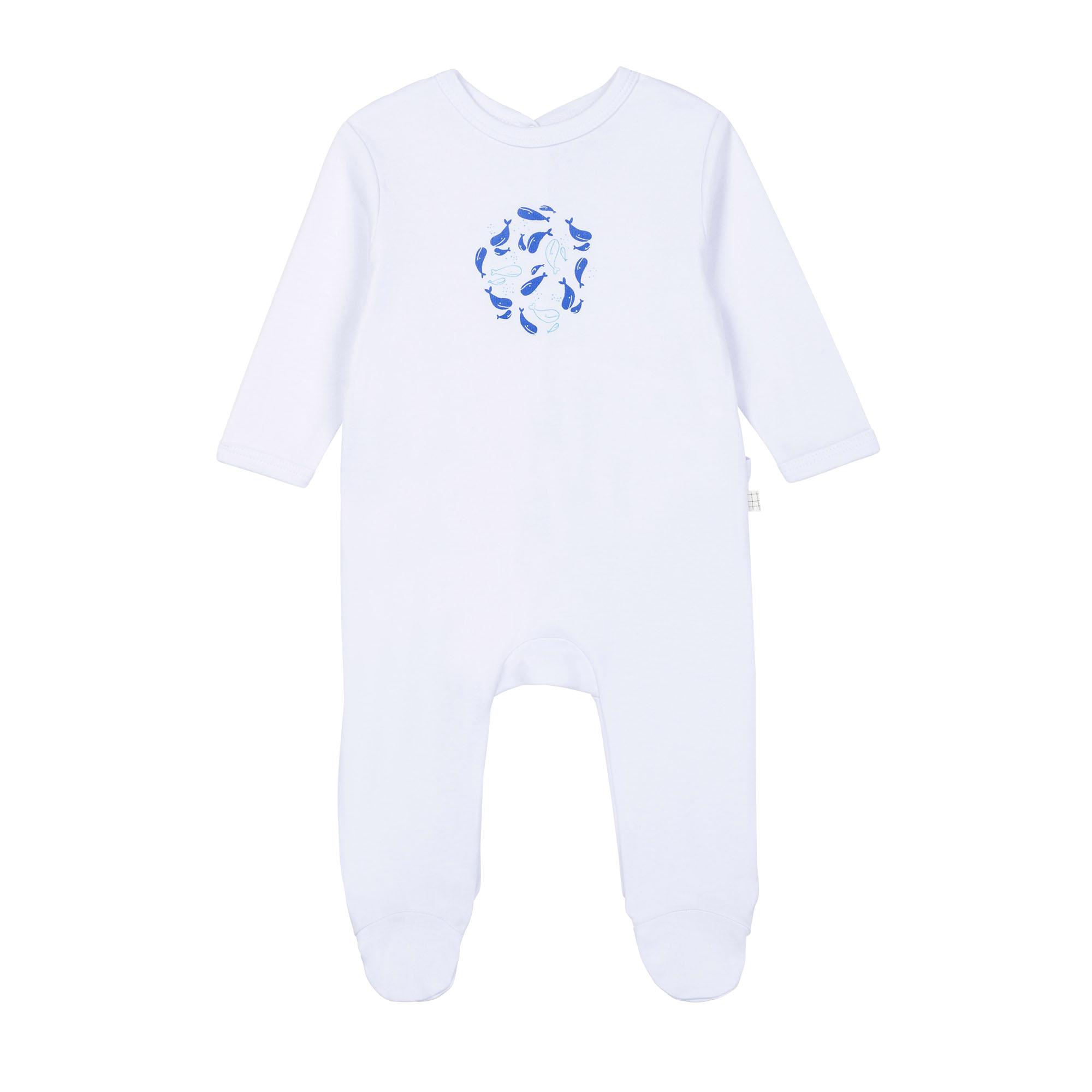 Pyjama en coton biologique avec boîte CARREMENT BEAU pour GARCON