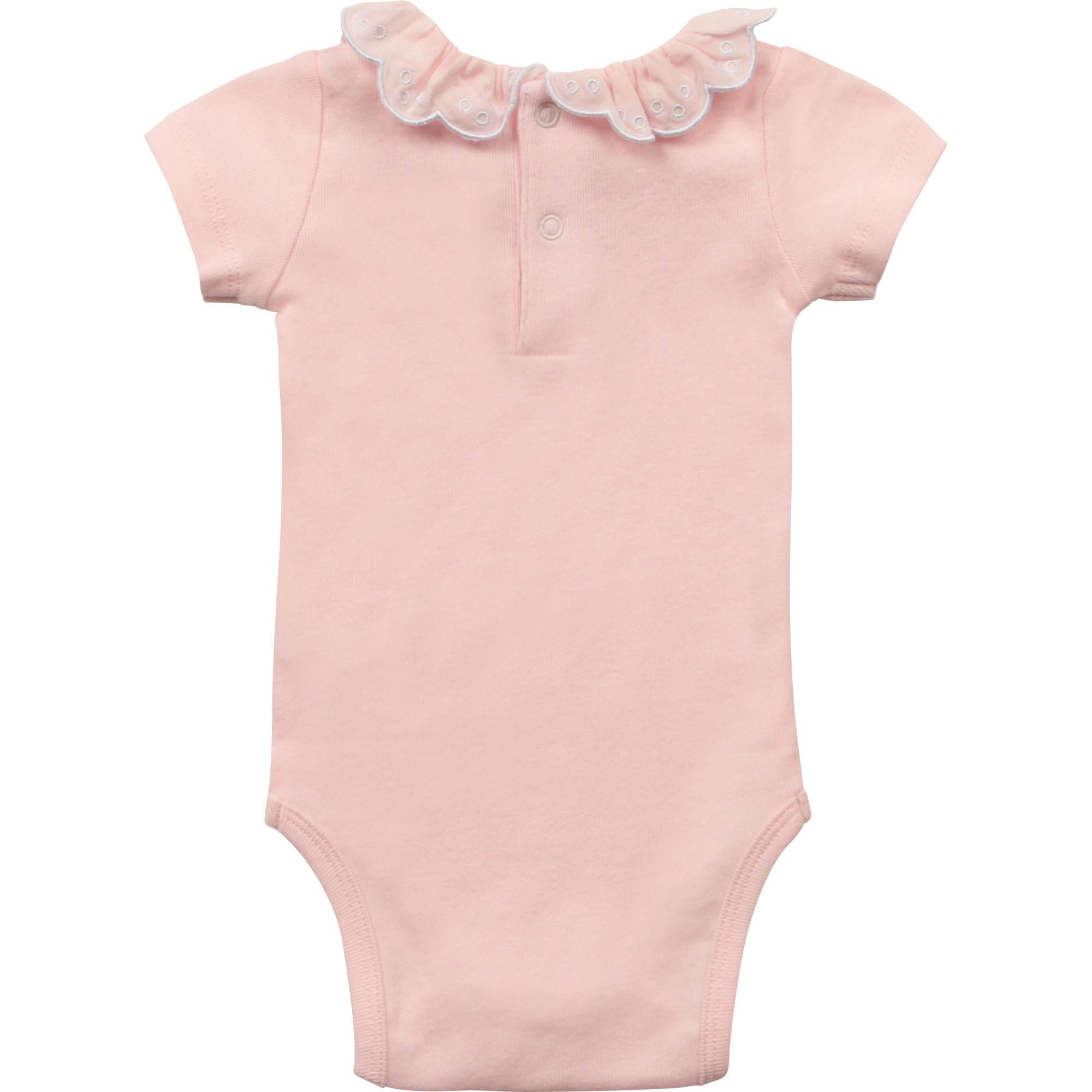 Organic cotton bodysuit CARREMENT BEAU for GIRL