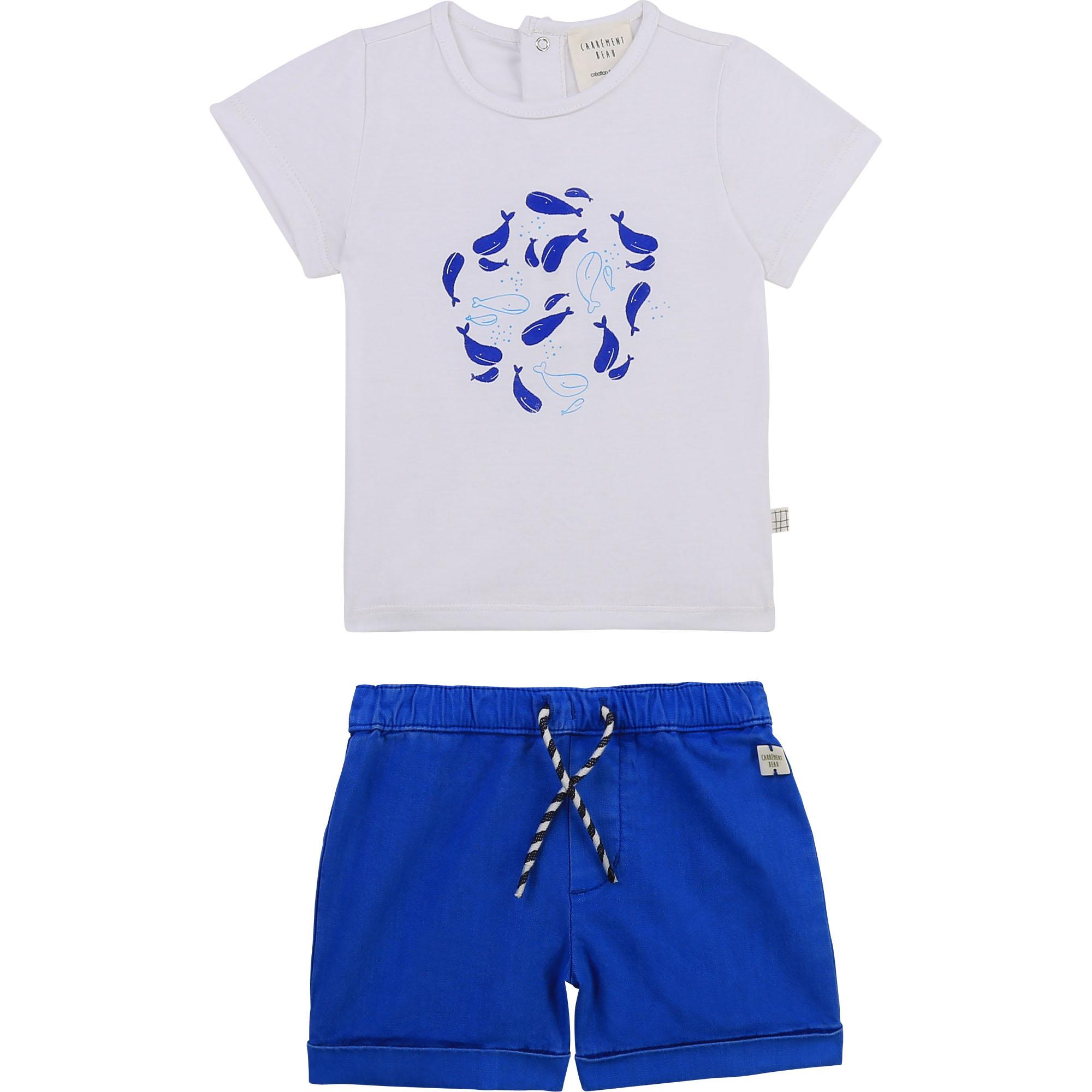 Cotton T-shirt and shorts set CARREMENT BEAU for BOY