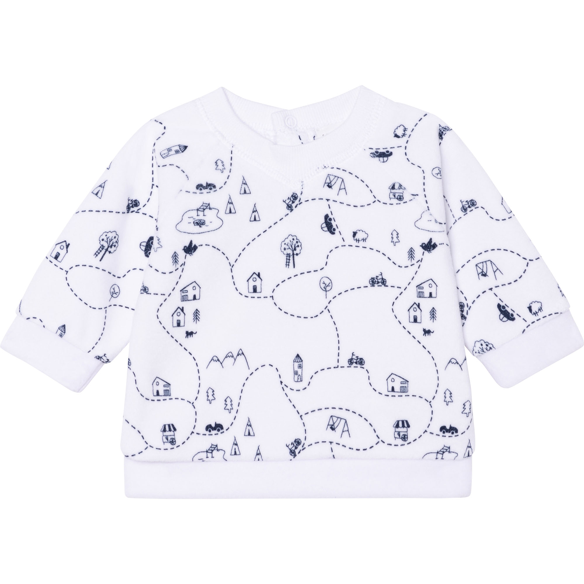 SWEATER+TROUSERS SET CARREMENT BEAU for BOY