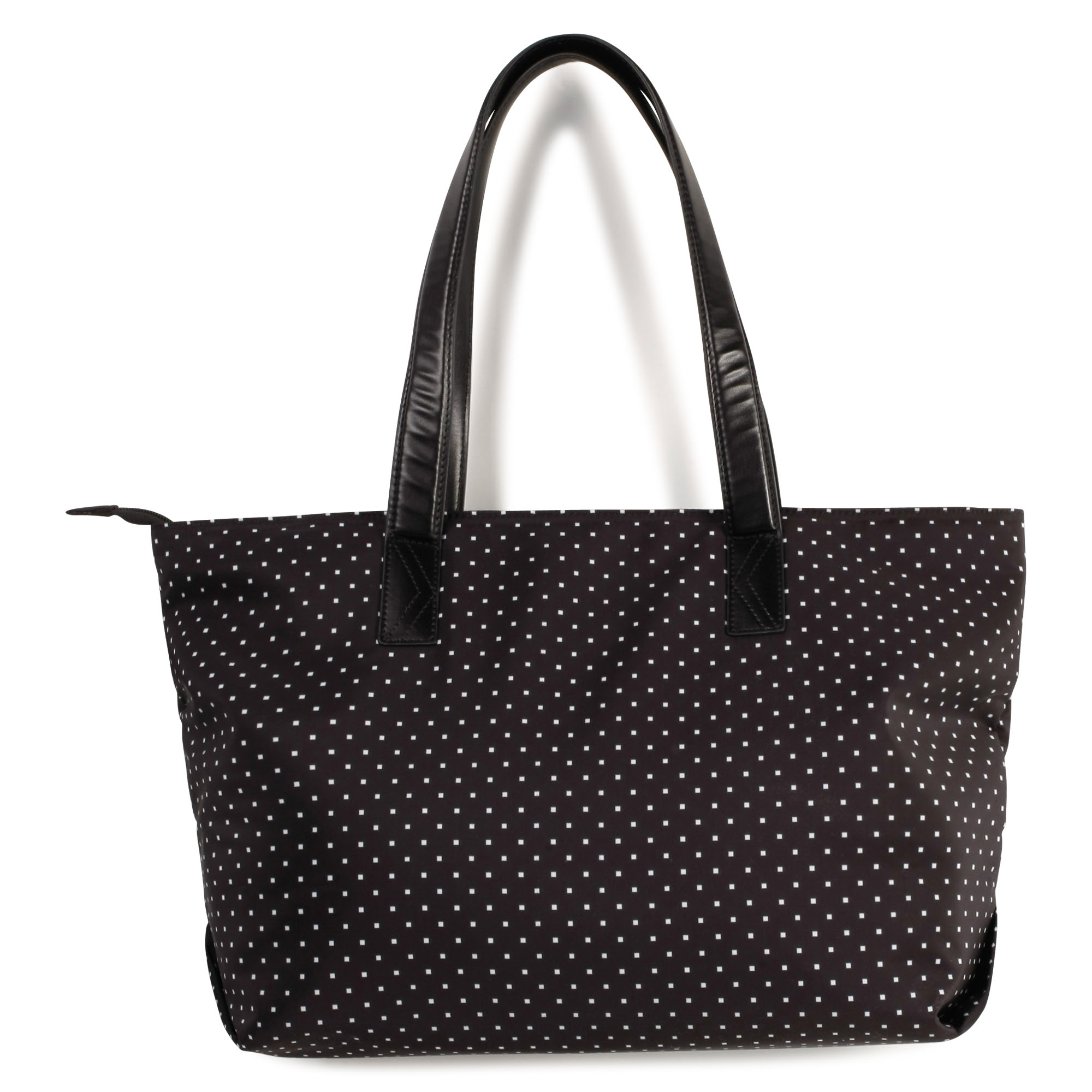 Coated polka dot tote bag KARL LAGERFELD KIDS for GIRL