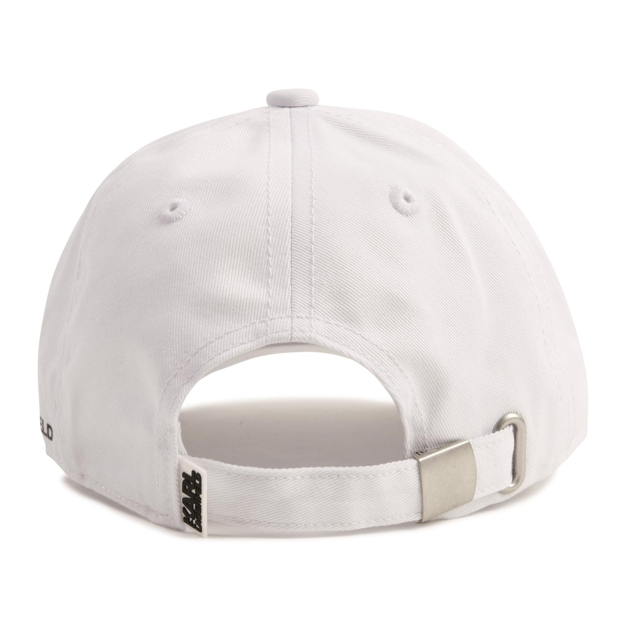 Cotton twill baseball cap KARL LAGERFELD KIDS for GIRL