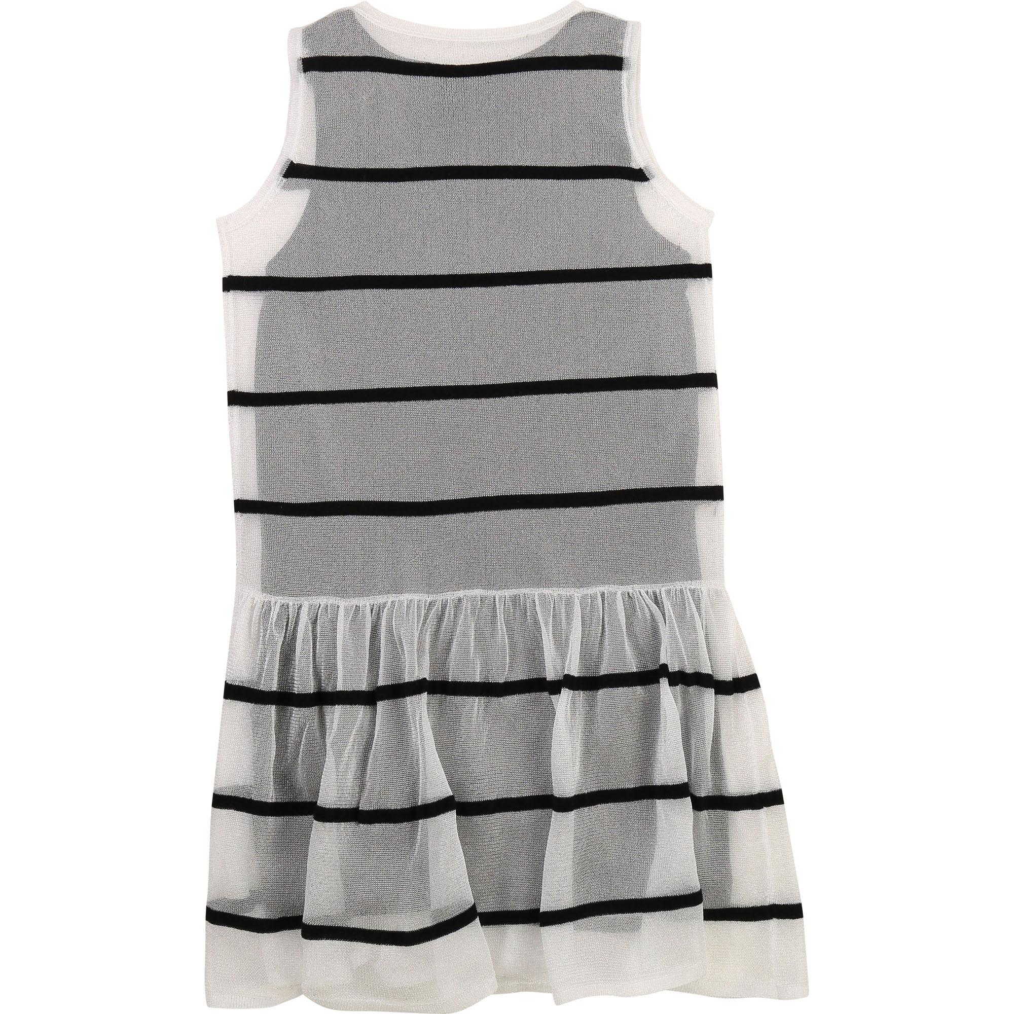 2-in-1 sleeveless jersey dress KARL LAGERFELD KIDS for GIRL