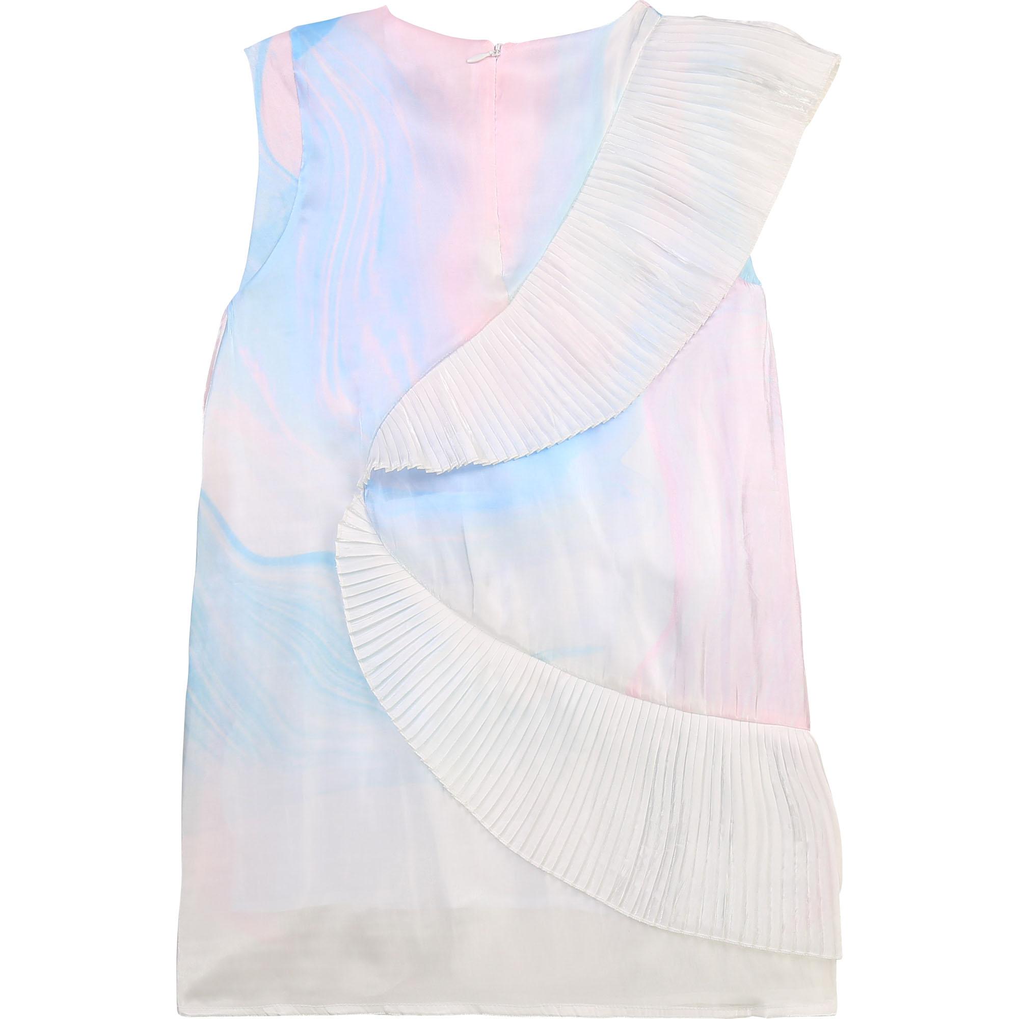 Robe de cérémonie volantée KARL LAGERFELD KIDS pour FILLE