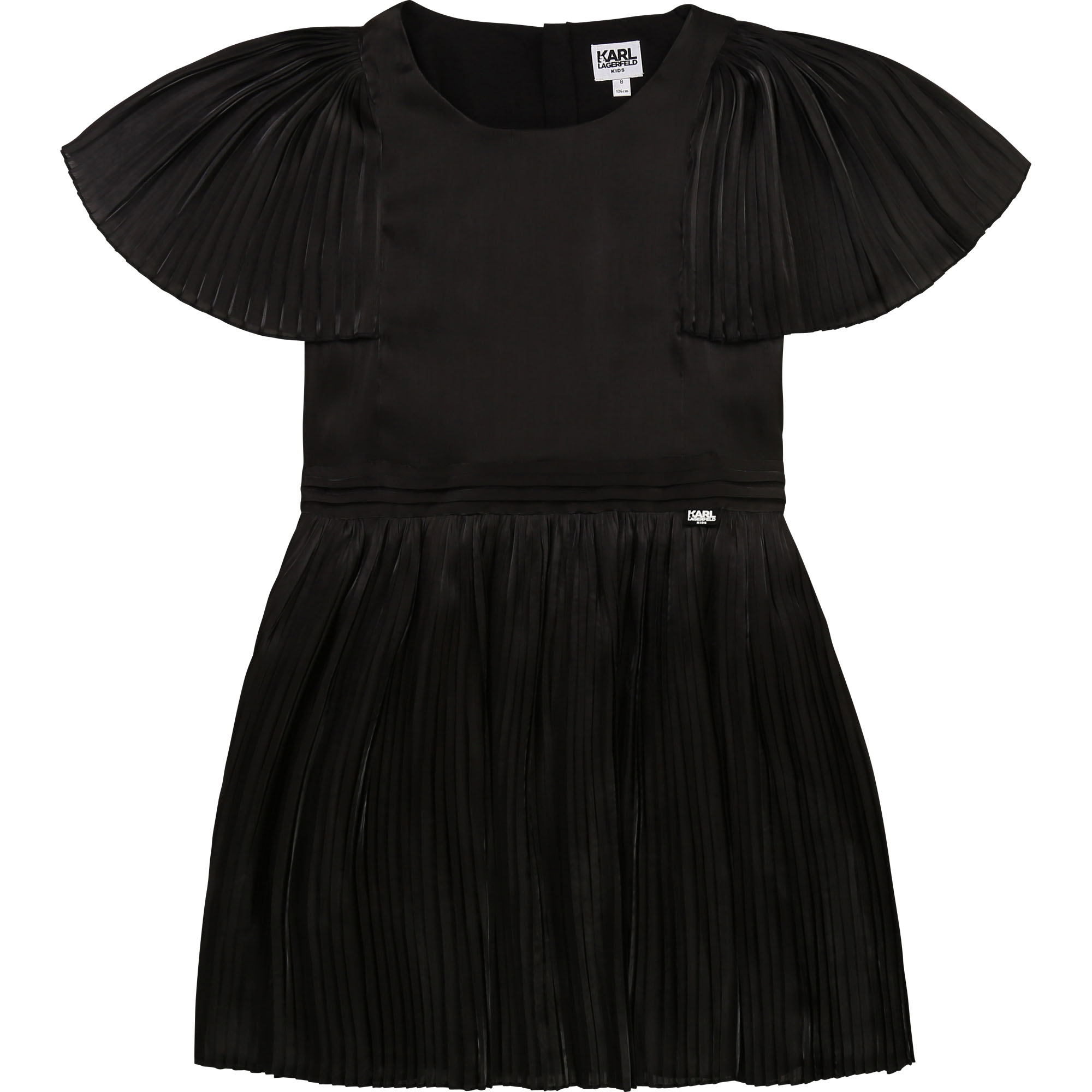 Pleated formal dress KARL LAGERFELD KIDS for GIRL